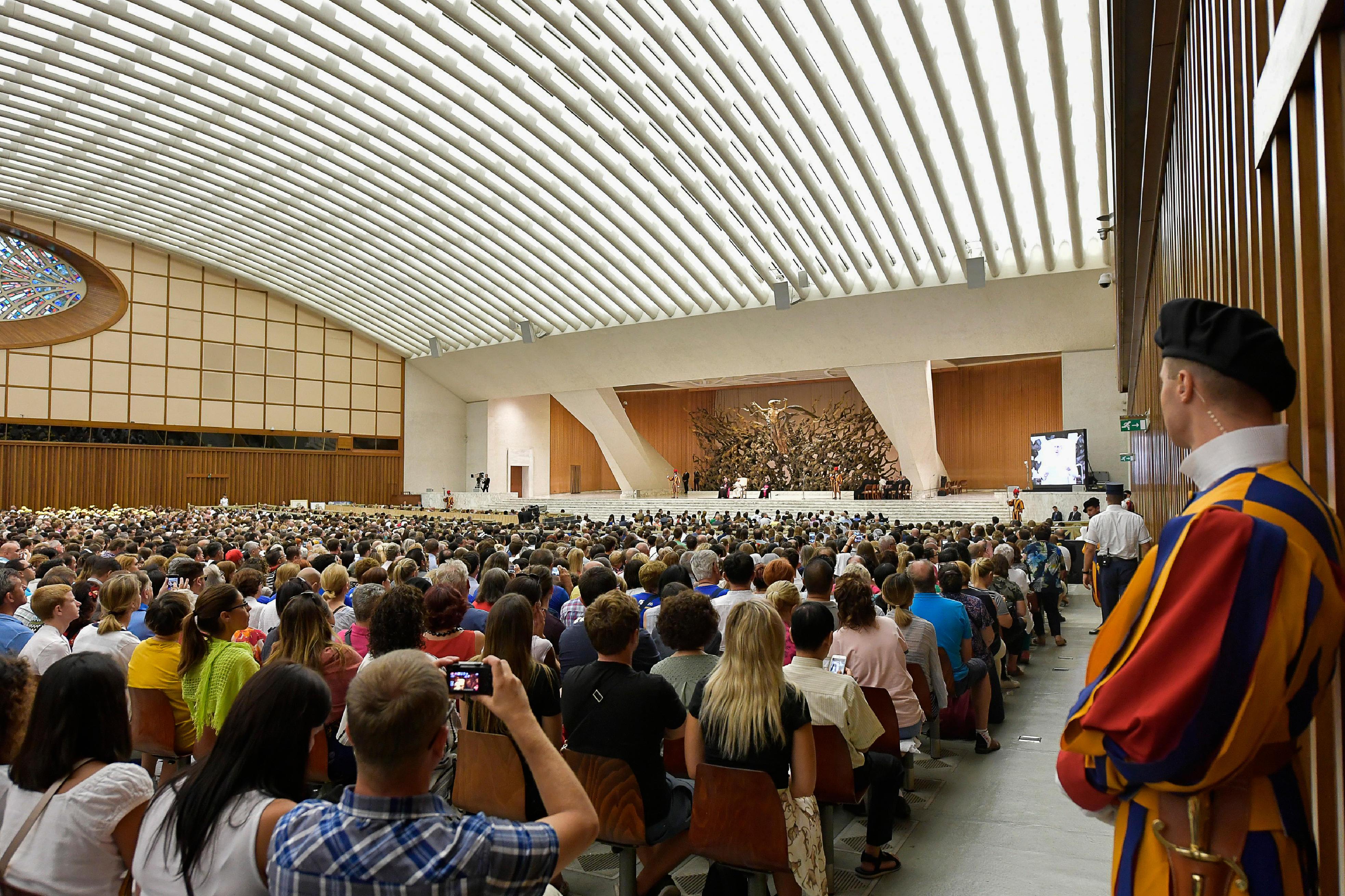 Audience du 8 août 2018 © Vatican Media