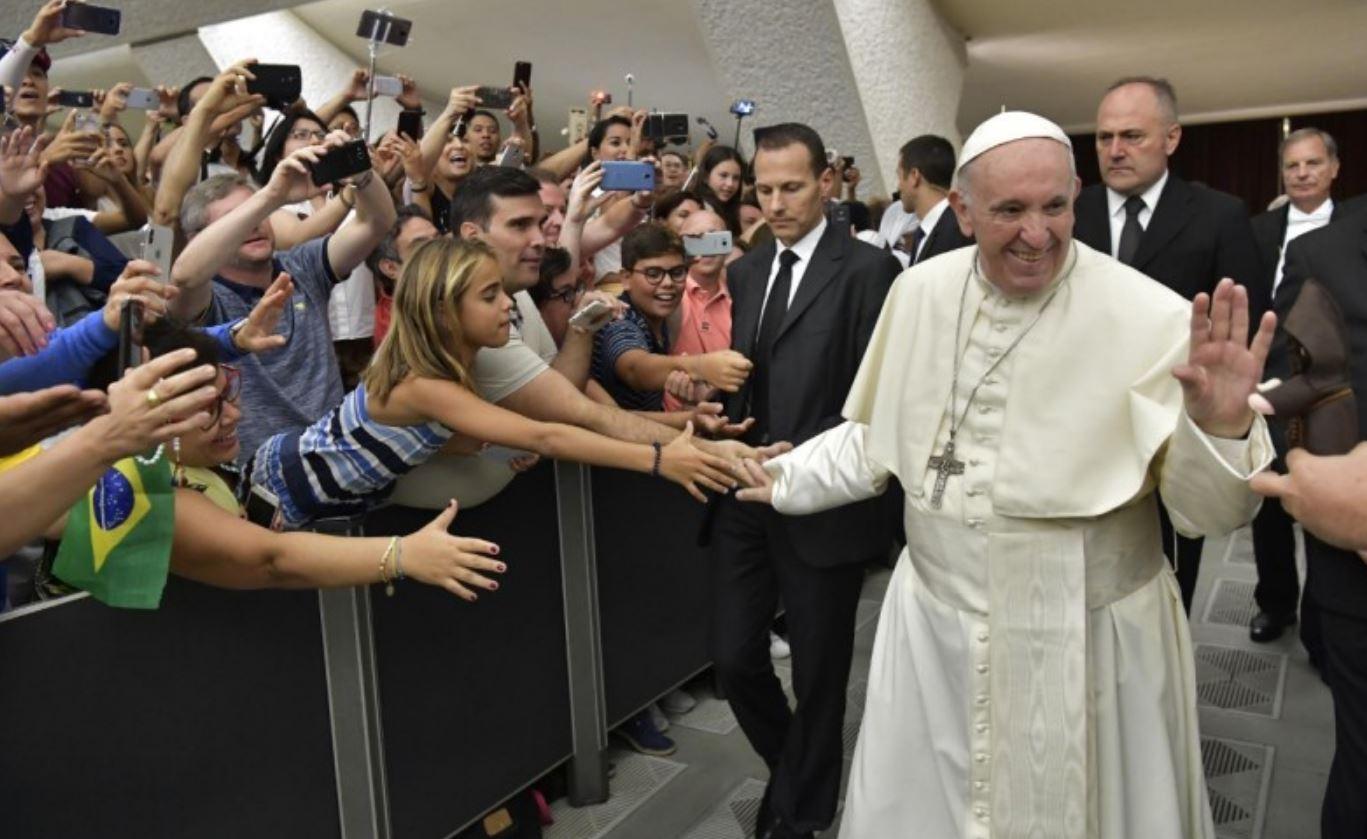 Audience générale du 22 août 2018 © Vatican Media