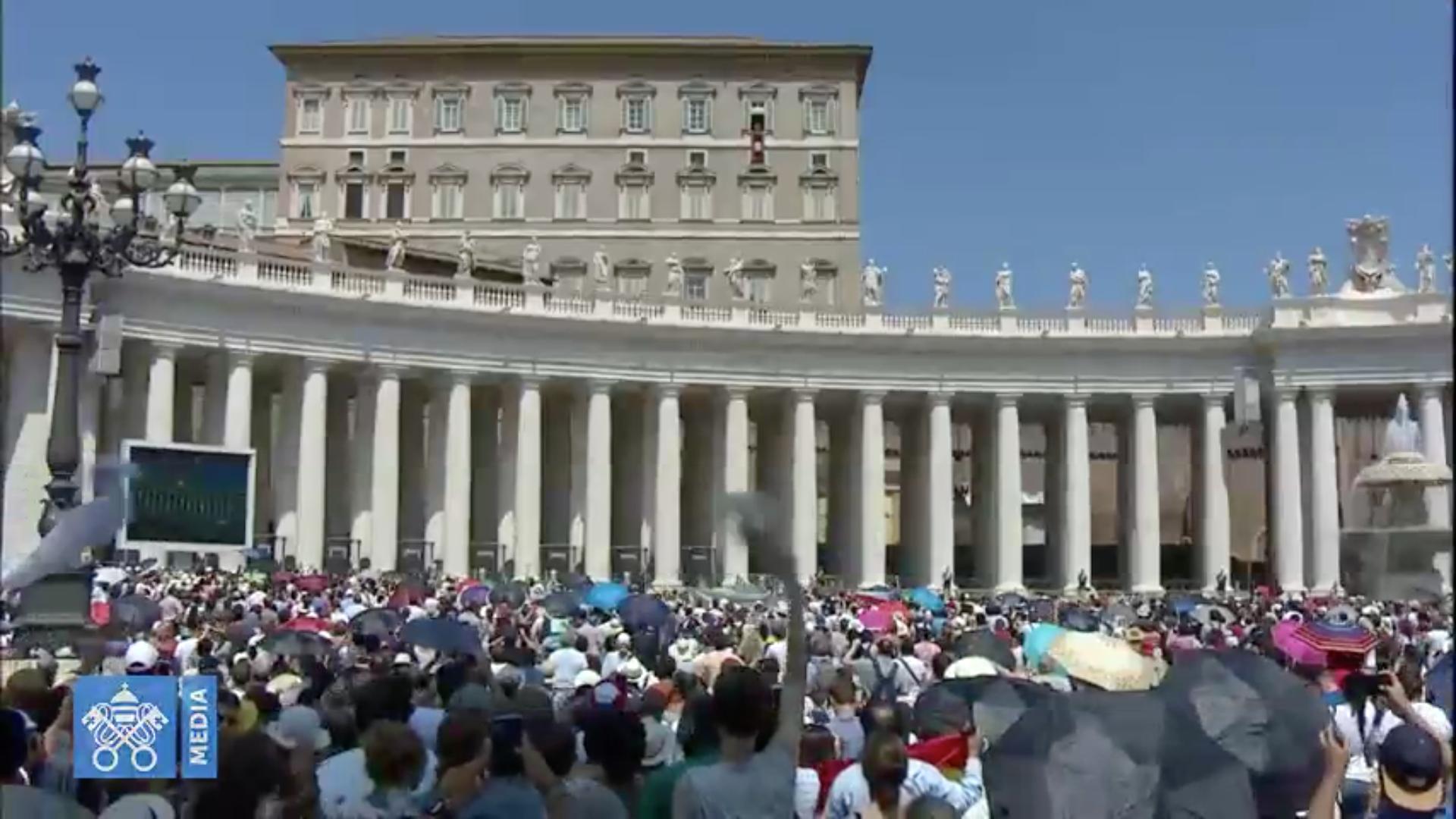 Angélus du 5 août 2018 @ Vatican Media
