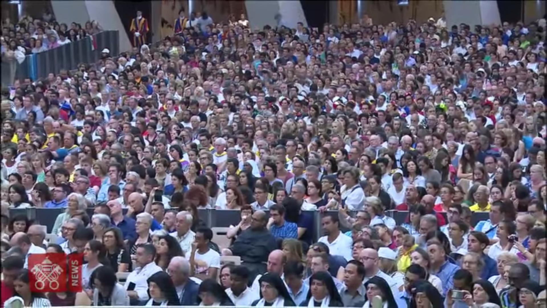 Audience du 1er août 2018 @ Vatican Media