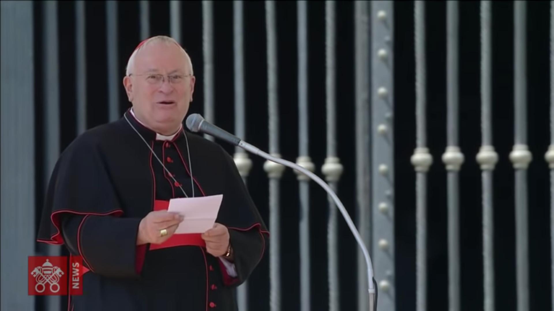Card. Bassetti, 12 août 2018, capture @ Vatican Media