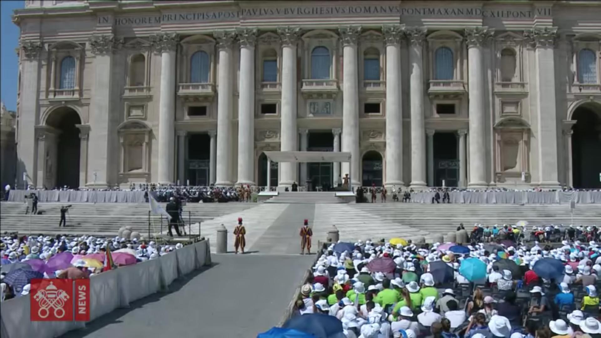 Angélus du 12 août 2018, capture @ Vatican Media