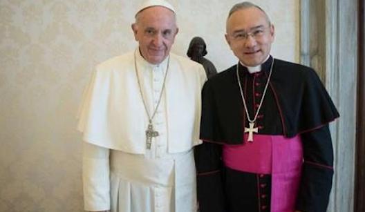 Mgr Edgar Peña Parra © Vatican Media