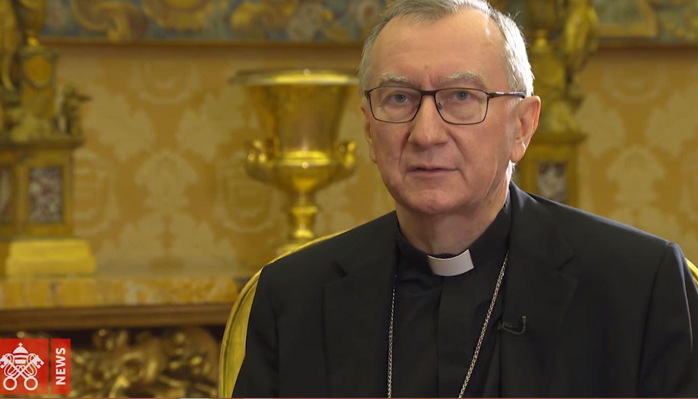 Cardinal Parolin, capture Vatican News