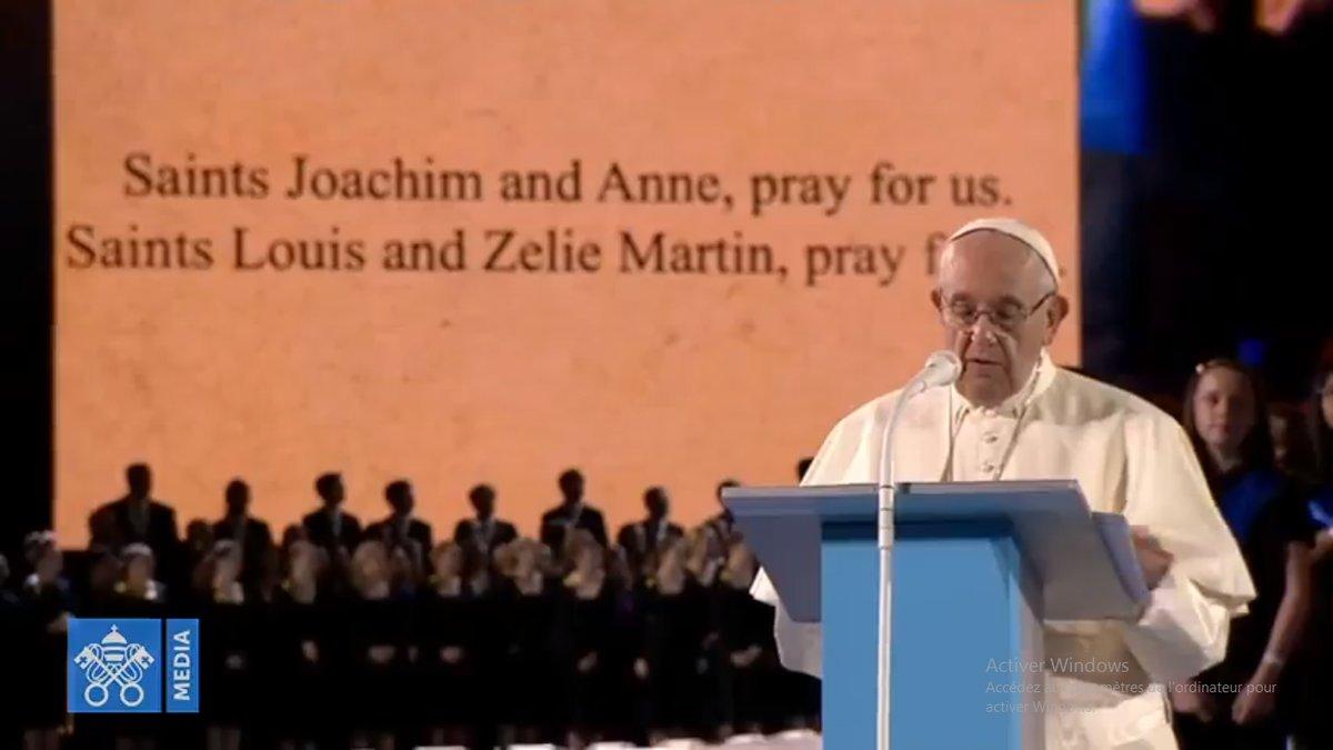 Dublin2018, prière des familles @Vatican Media
