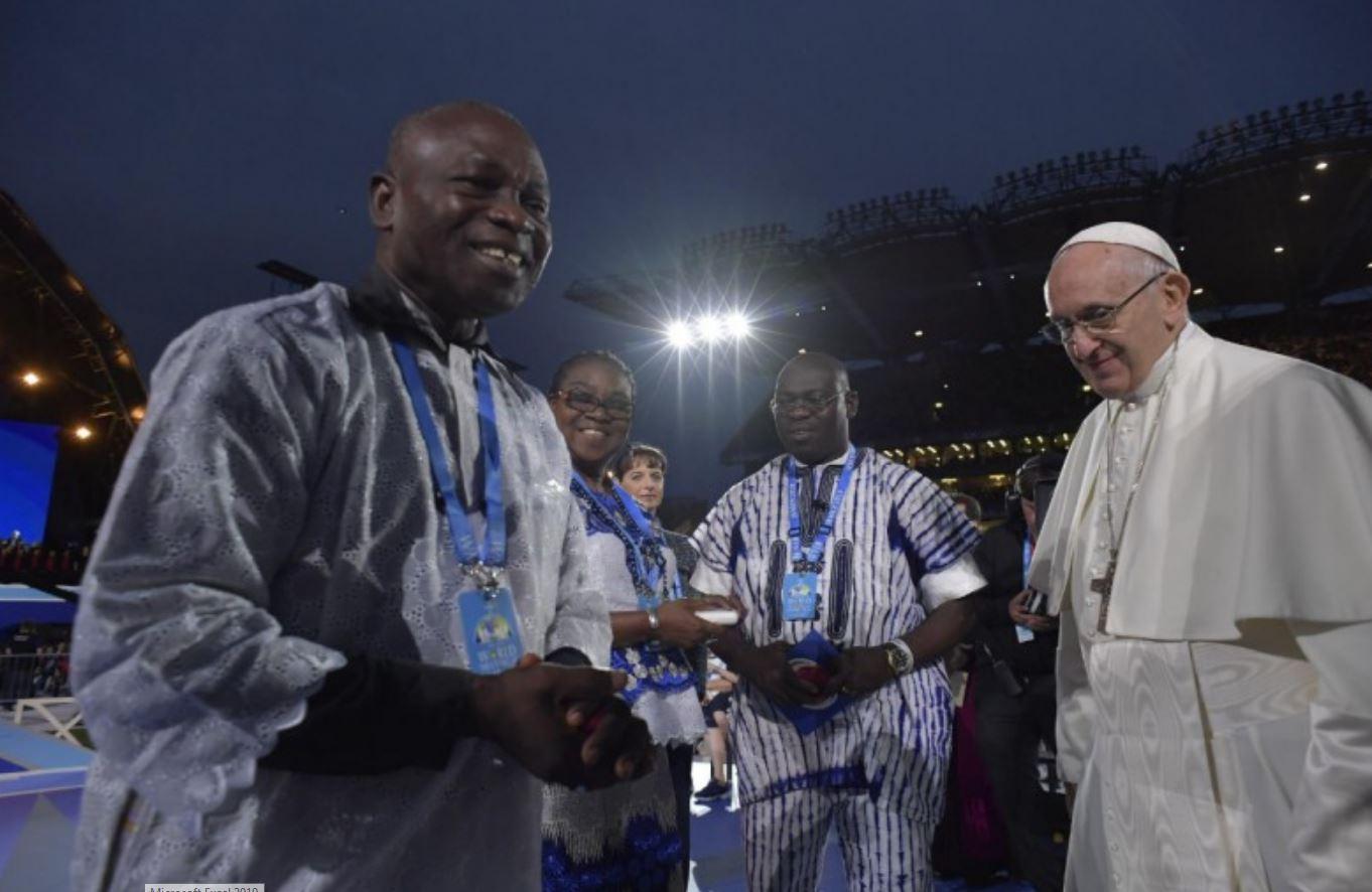 Famille du Burkina, Festival des familles, Dublin, Irlande © Vatican Media