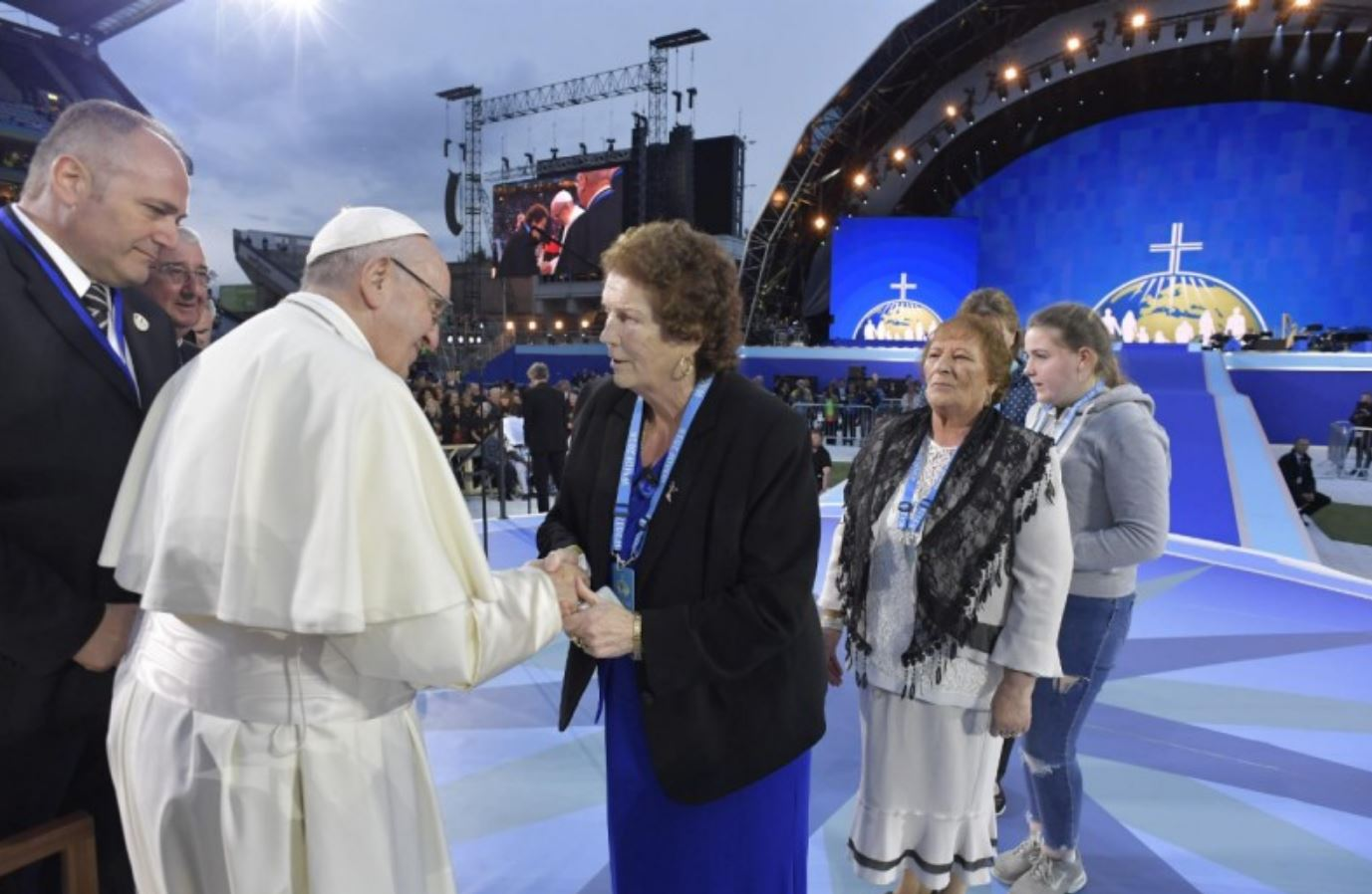 Missy Collins, Travellers, Festival des familles, Dublin, Irlande © Vatican Media