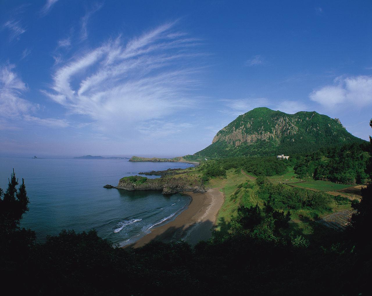 Île de Jeju (Corée du Sud) @ Korean Culture and Information Service / wikimedia commons