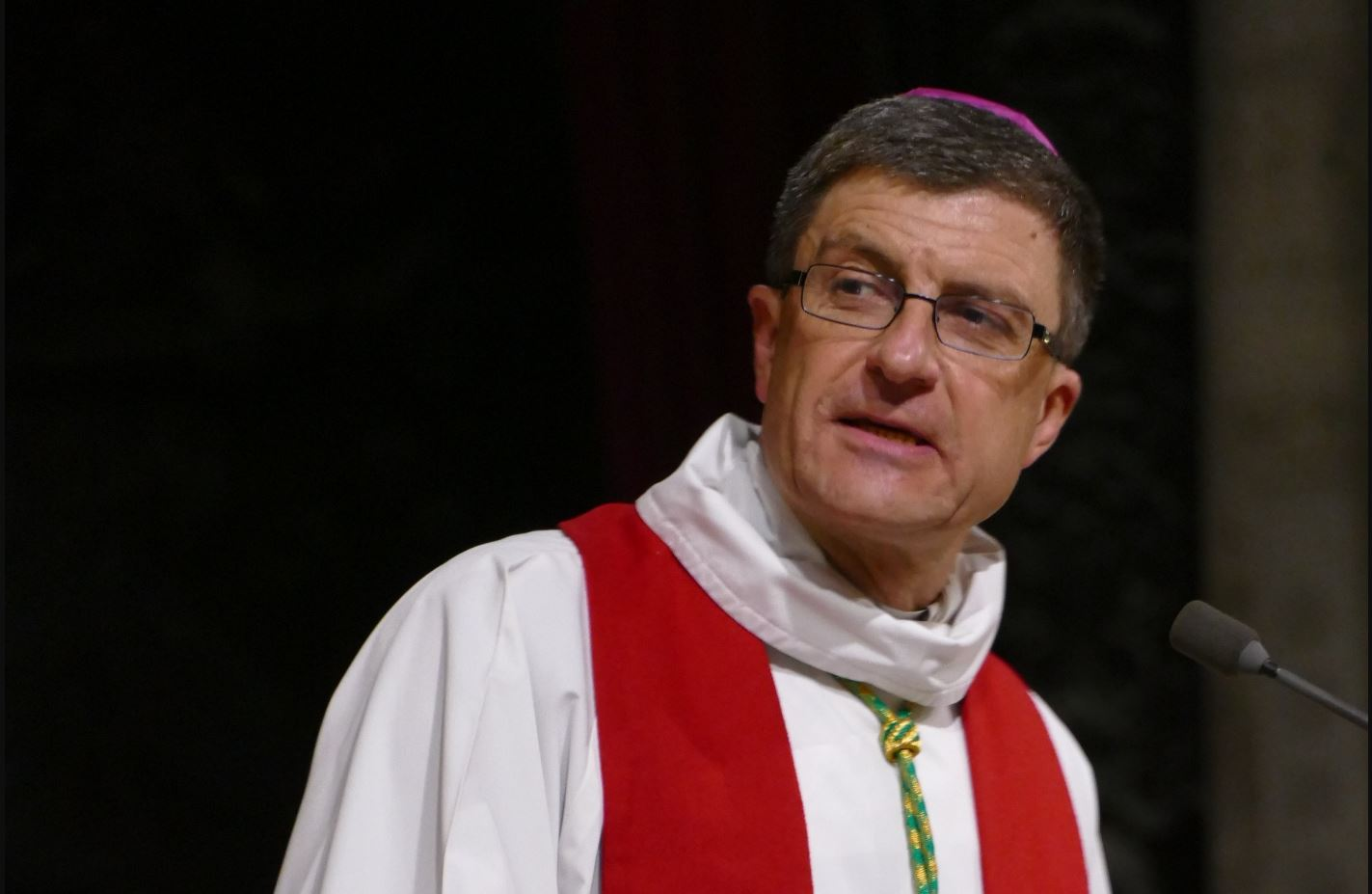 Mgr Eric de Moulins Beaufort © Wikimedia commons / Peter Potrowl