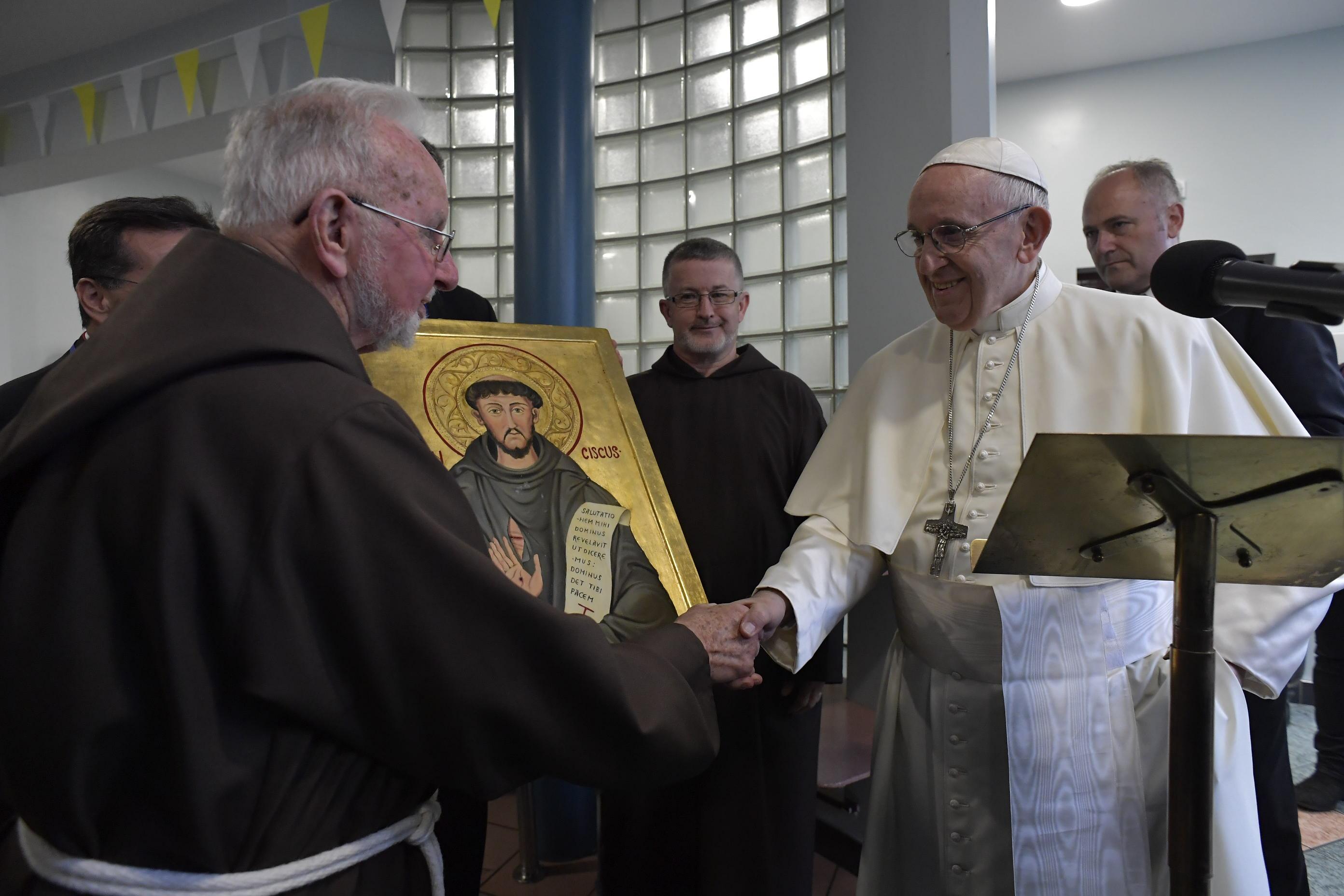 Centre des capucins pour familles sans-abri, Dublin, Irlande © Vatican Media