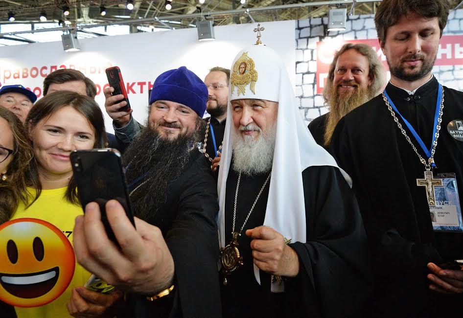 Le patriarche Kirill au Forum des jeunes © p. Igor Palkin / patriarcat de Moscou