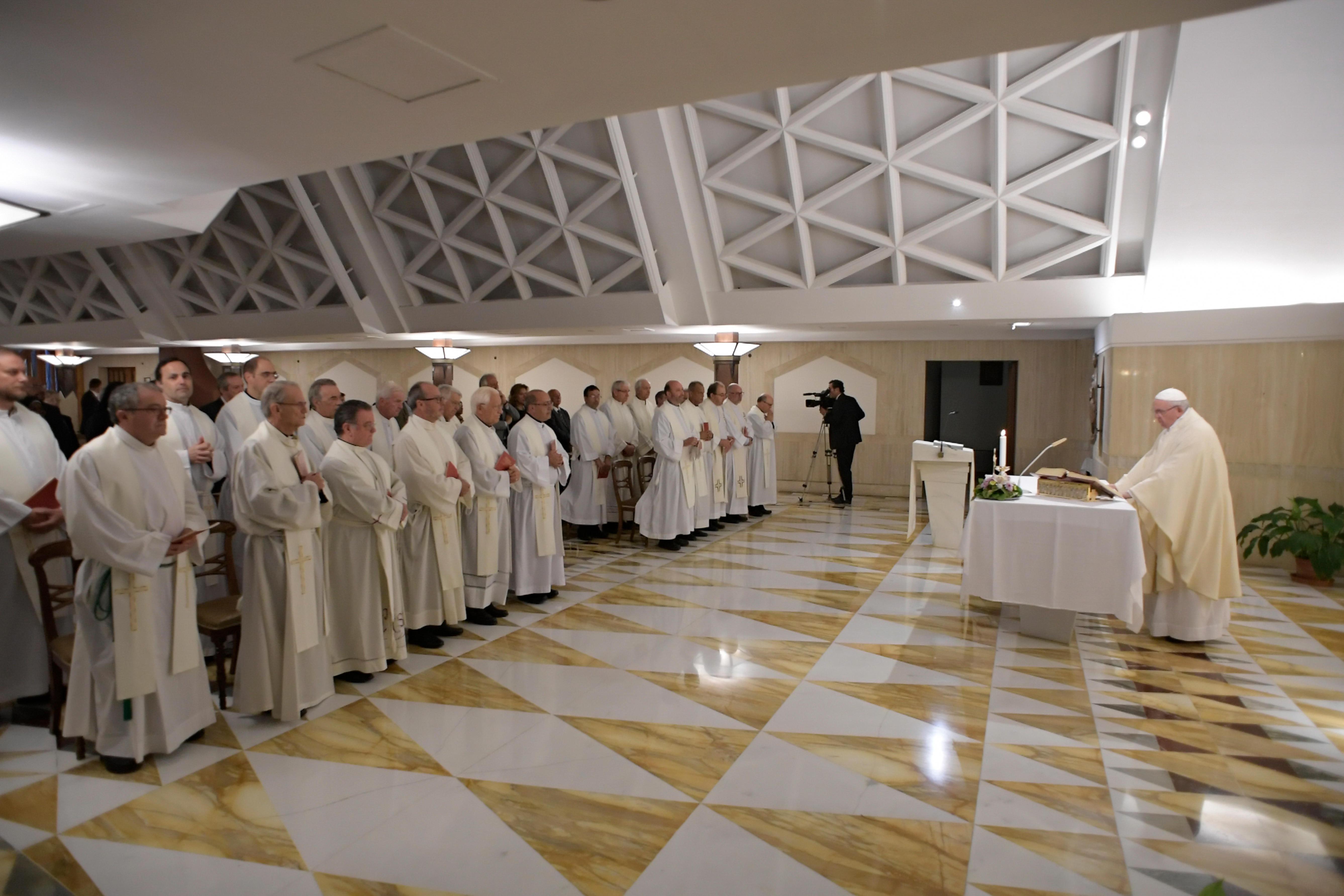 Ste-Marthe, 13 sept. 2018 © Vatican Media