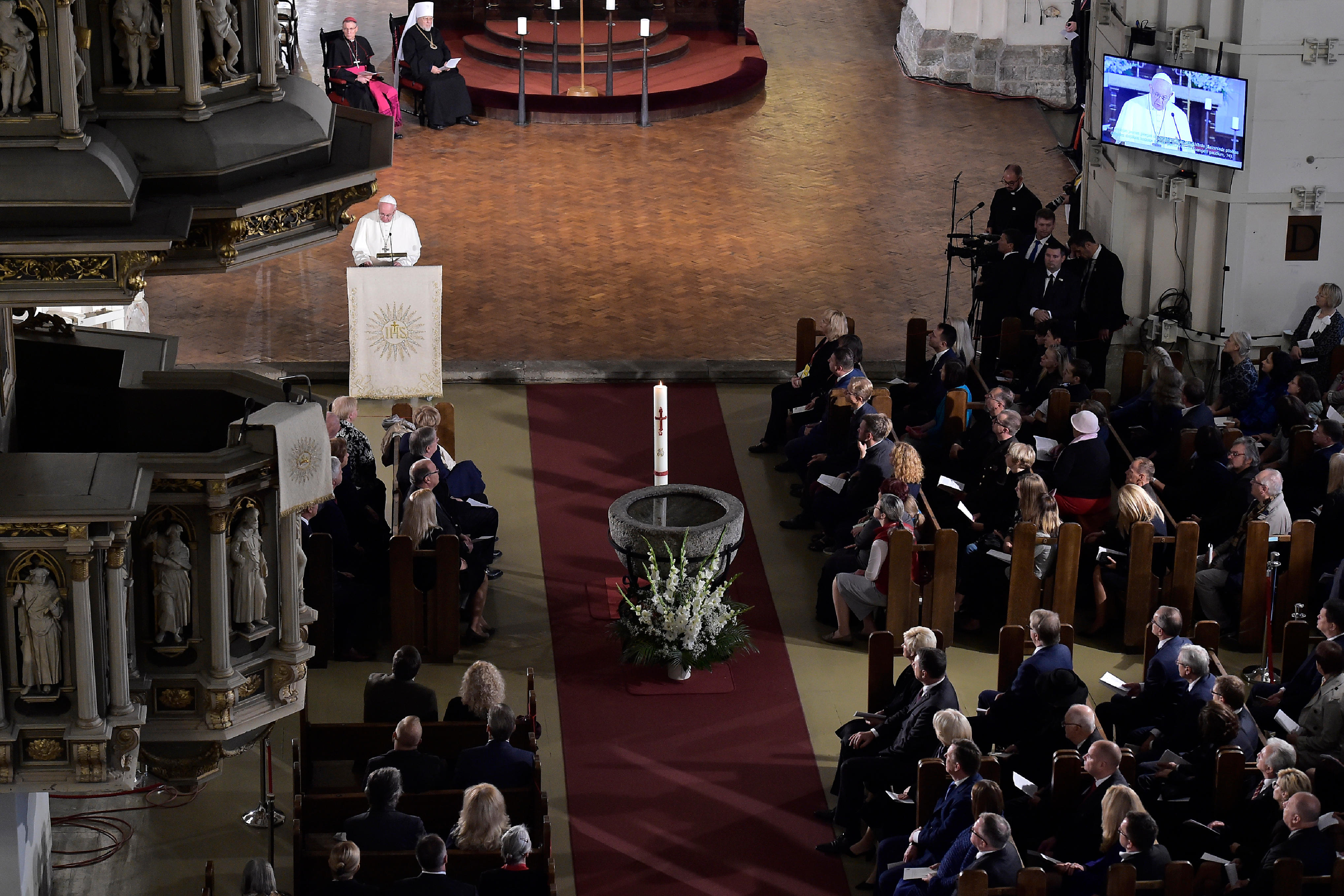 Cathédrale luthérienne Sainte-Marie de Riga © Vatican Media