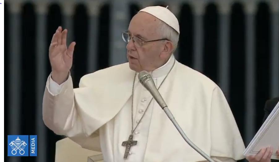 Audience générale du 19 septembre 2018, capture Vatican Media