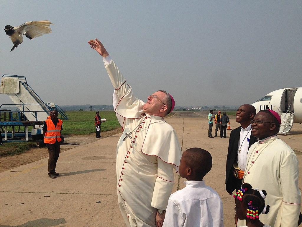 Mgr Montemayor @ MONUSCO, Kananga, Kasai-Central, RDC