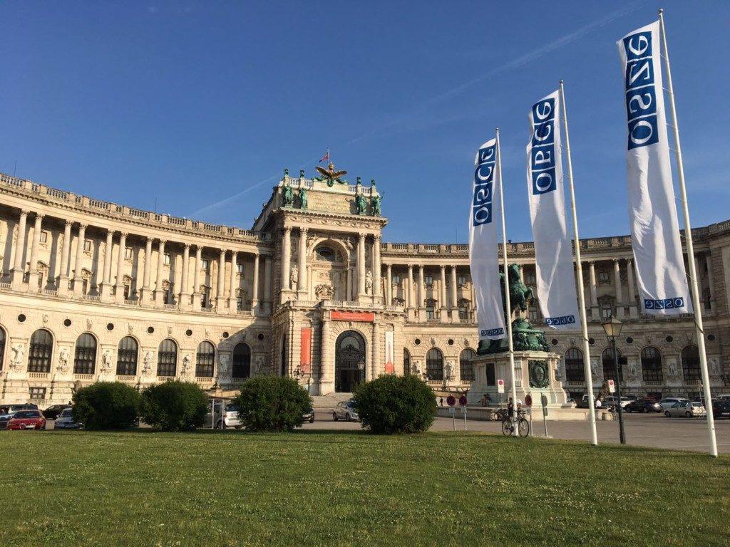 Hofburg, siège de l'OSCE @ vzcz.church.ua