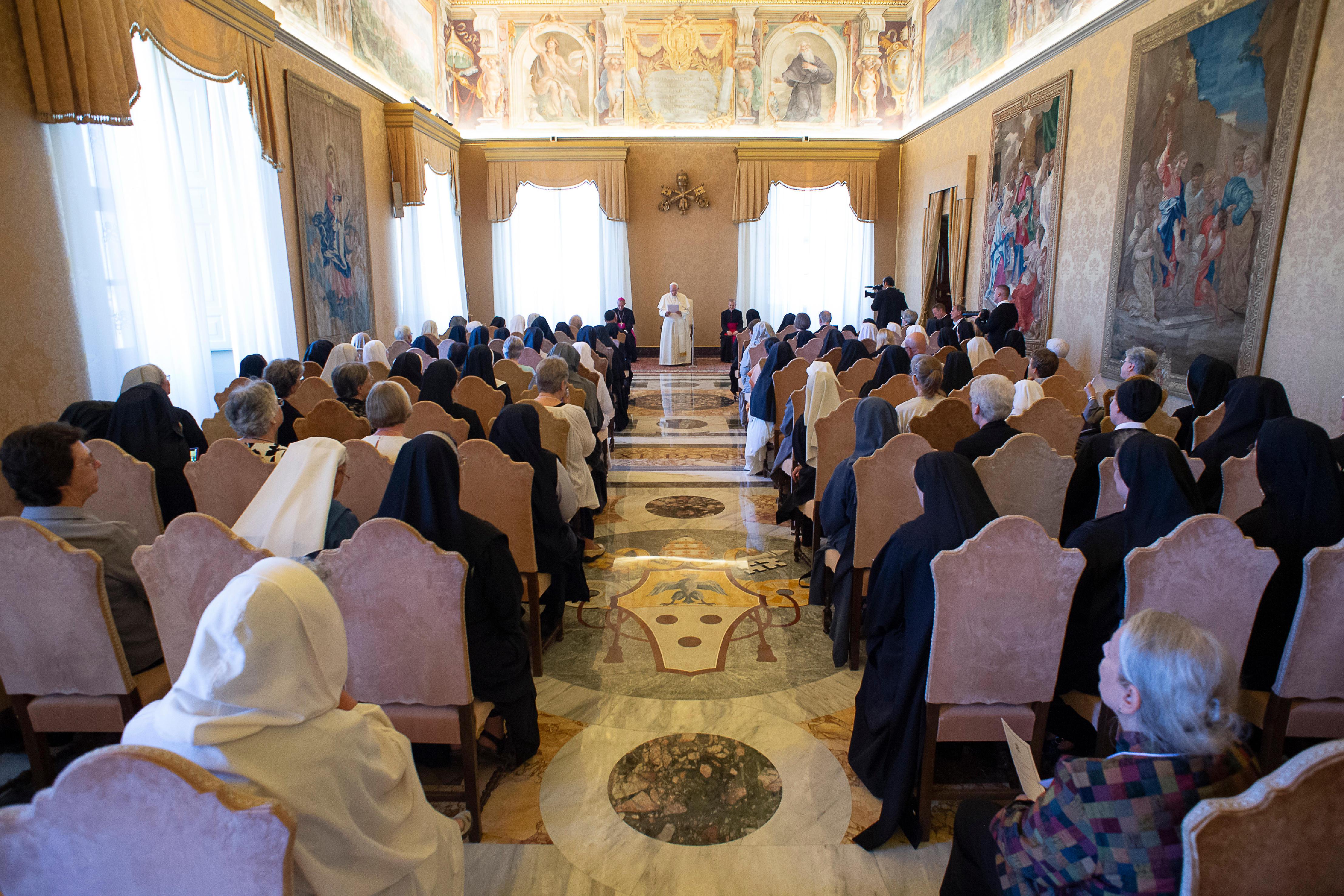 Soeurs bénédictines © Vatican Media