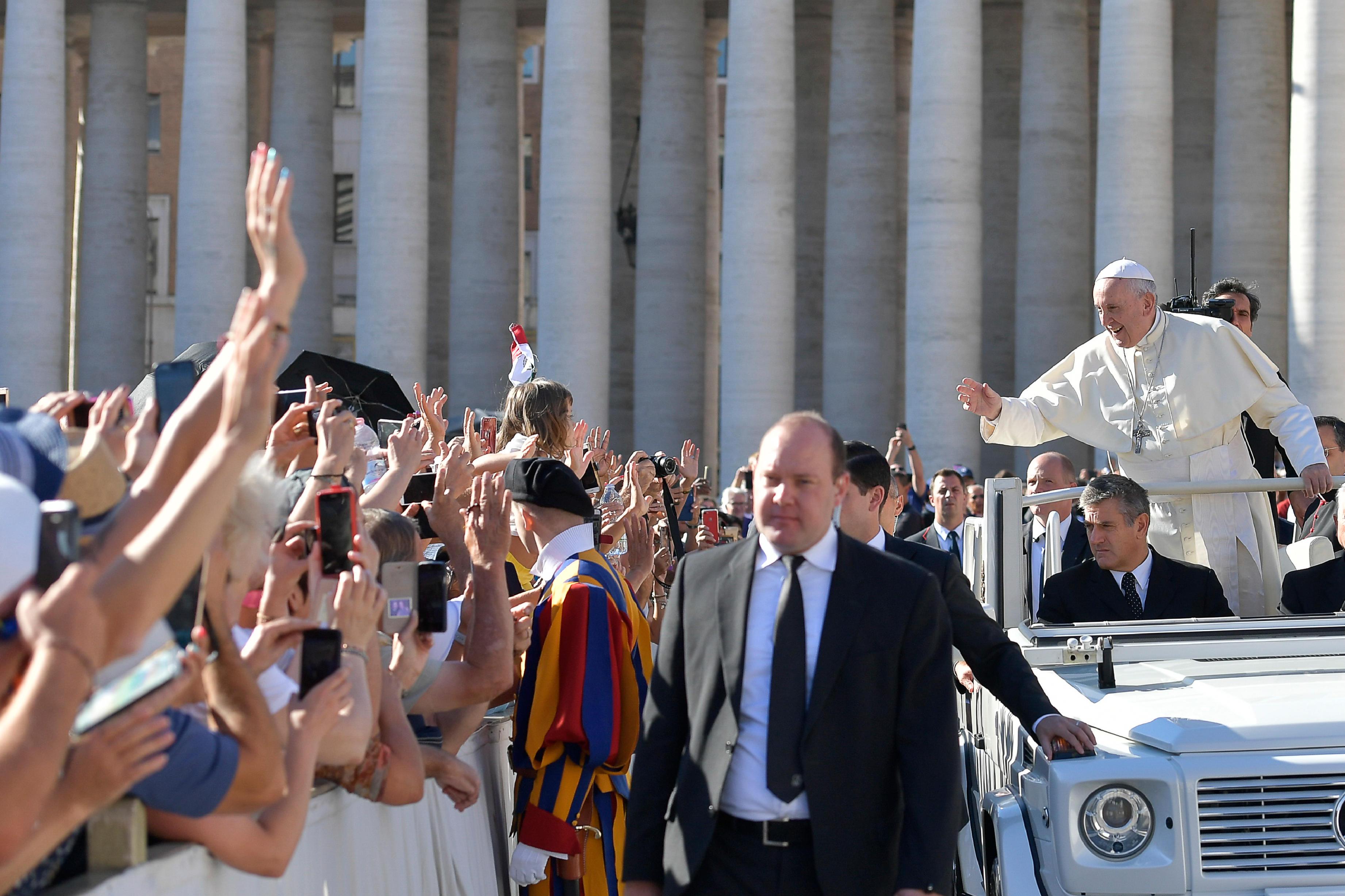 Audience générale du 12 septembre 2018 © Vatican Media