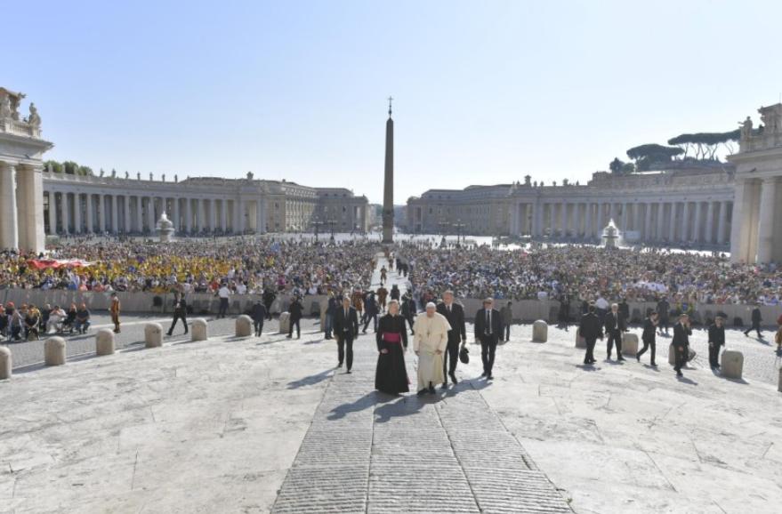 Audience générale du 5 septembre 2018 © Vatican Media