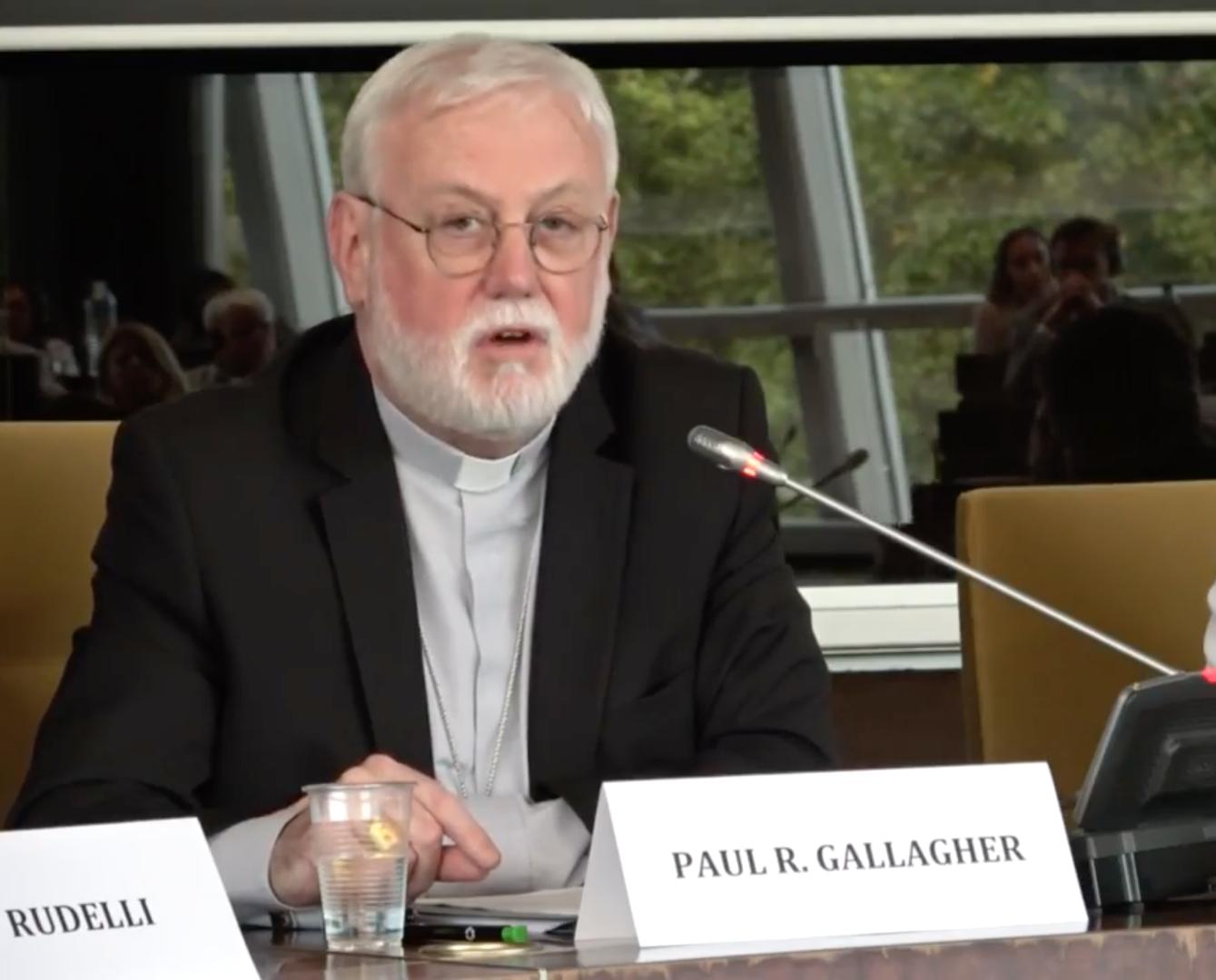 Mgr Gallagher @ eclj.org