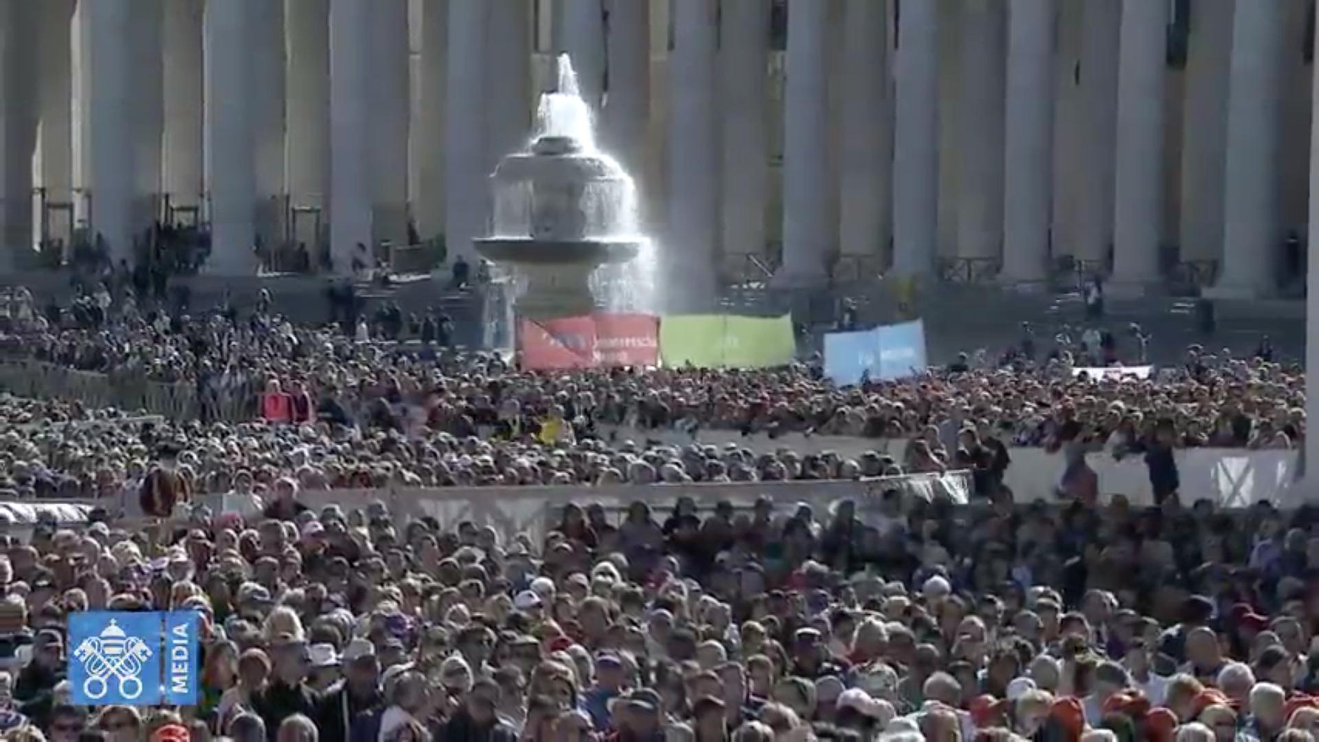 Audience, 26 sept. 2018 @Vatican News