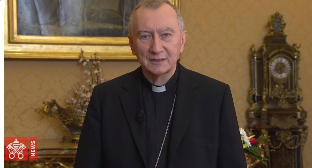 Cardinal Parolin sur la Chine, capture Vatican News