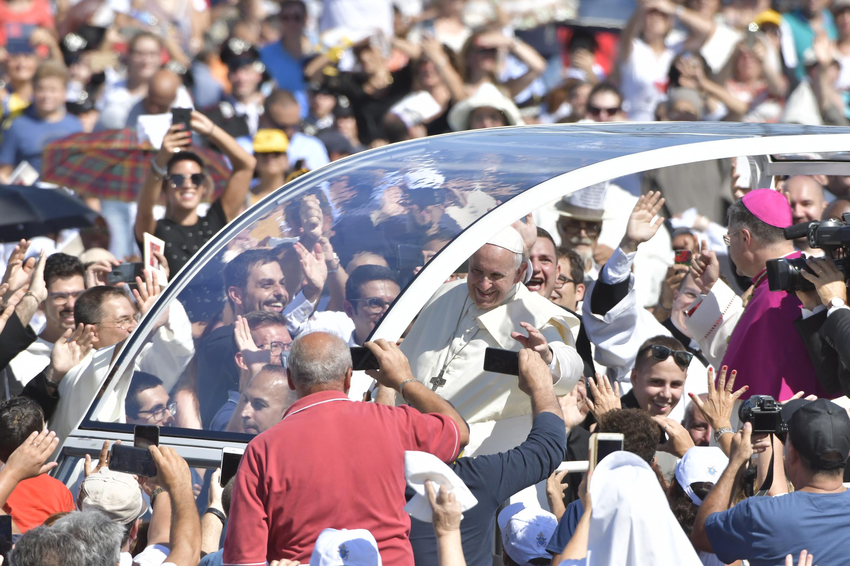 Palerme, 15 sept. 2018 © Vatican Media