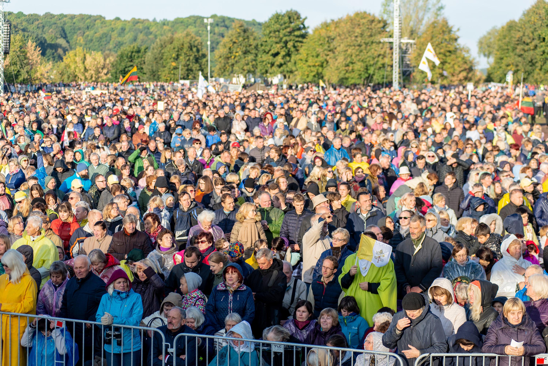 Messe à Kaunas, Lituanie © Vatican Media