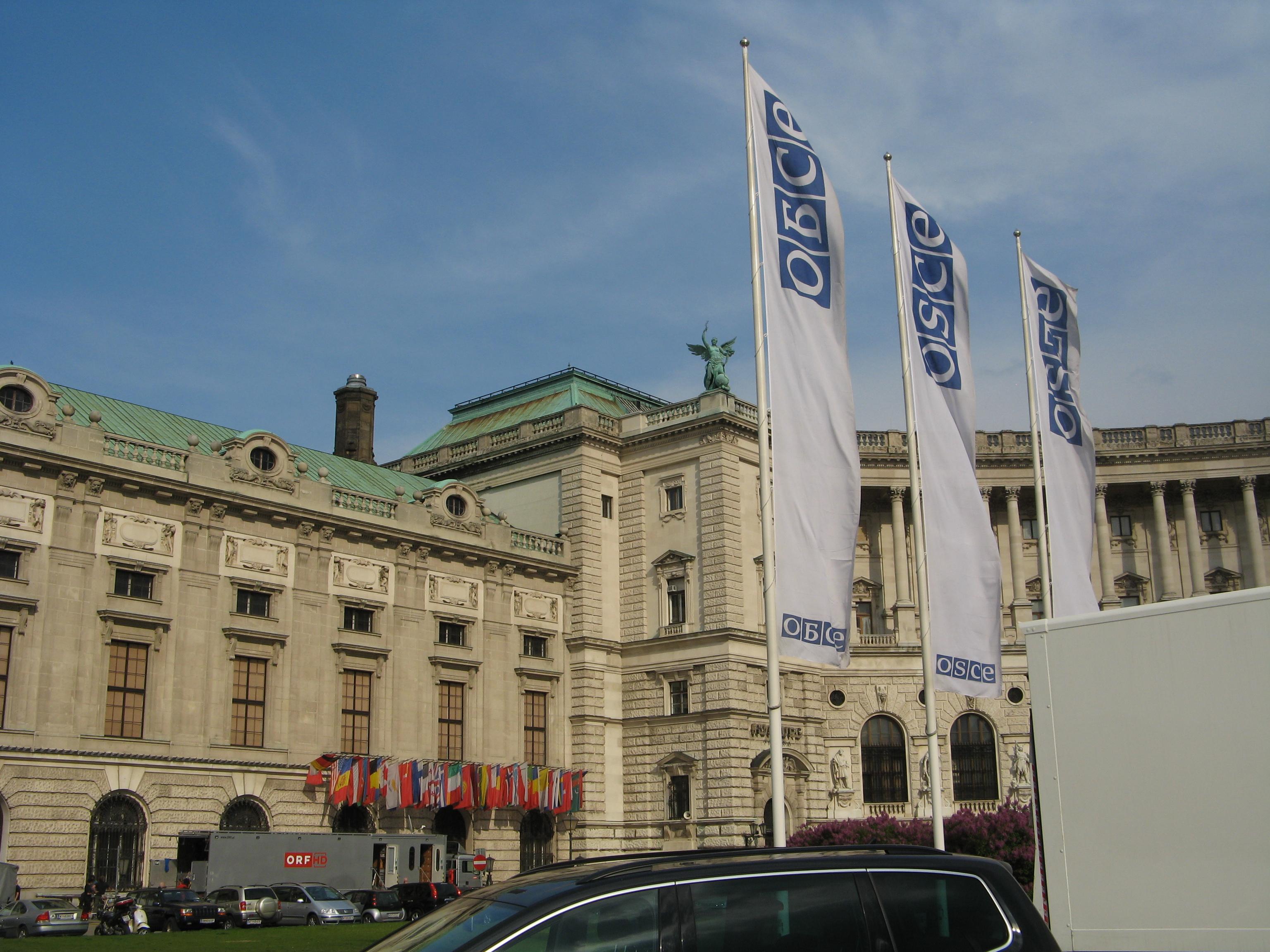 Hofburg, siège de l'OSCE à Vienne (Autriche) @ Kaihsu Tai, wikimedia commons