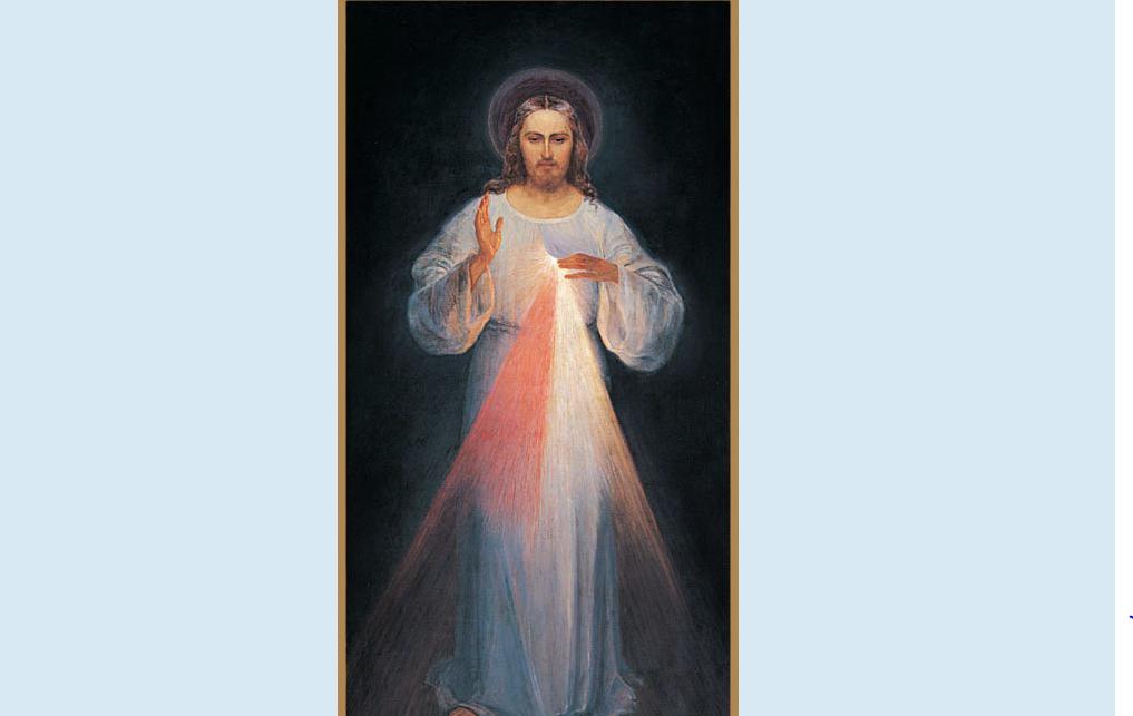 Jésus miséricordieux de Vilnius © faustine-message.com