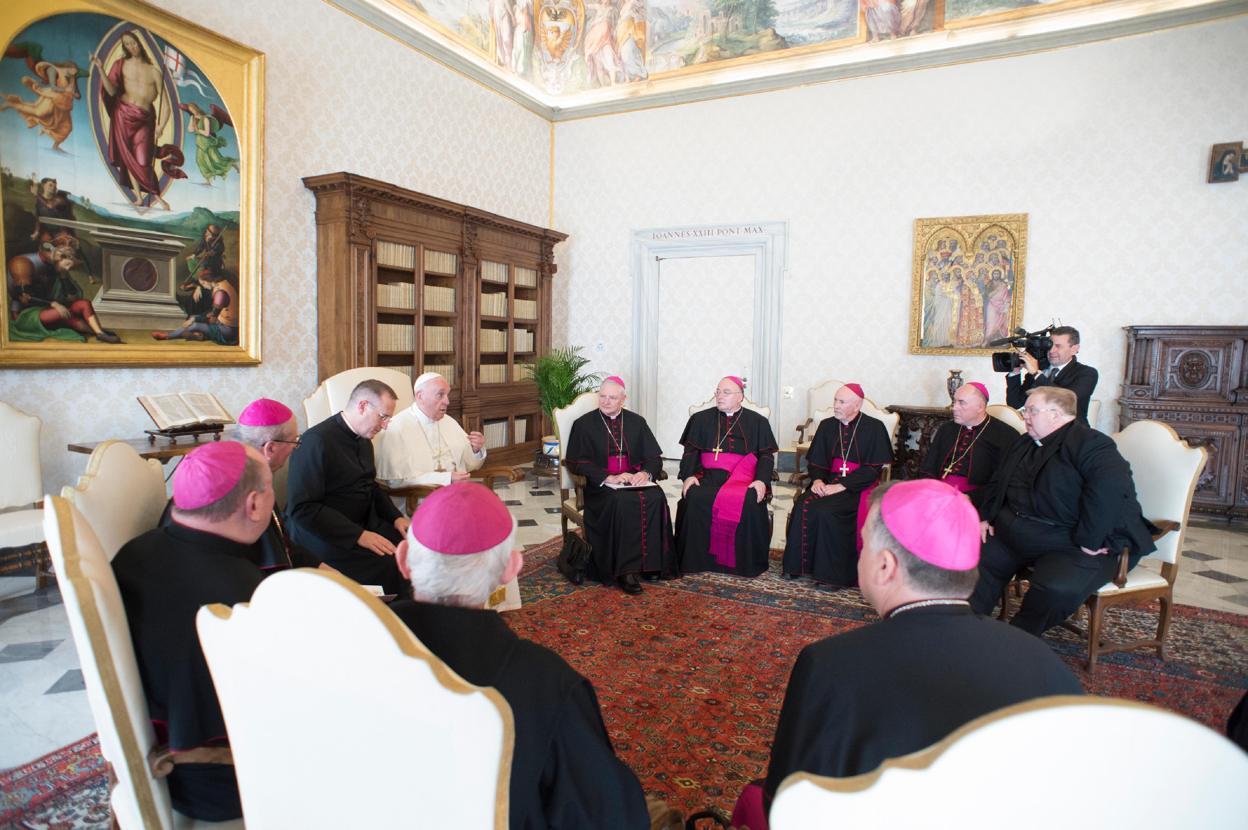 Ecosse, ad limina 2018 © Vatican Media