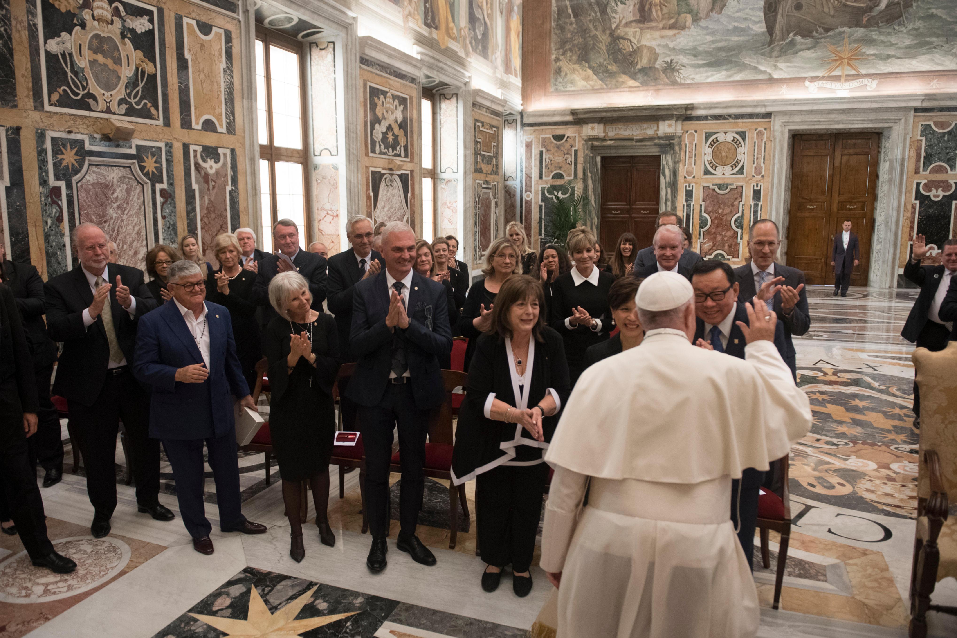 Patrons des Arts des Musées du Vatican © Vatican Media