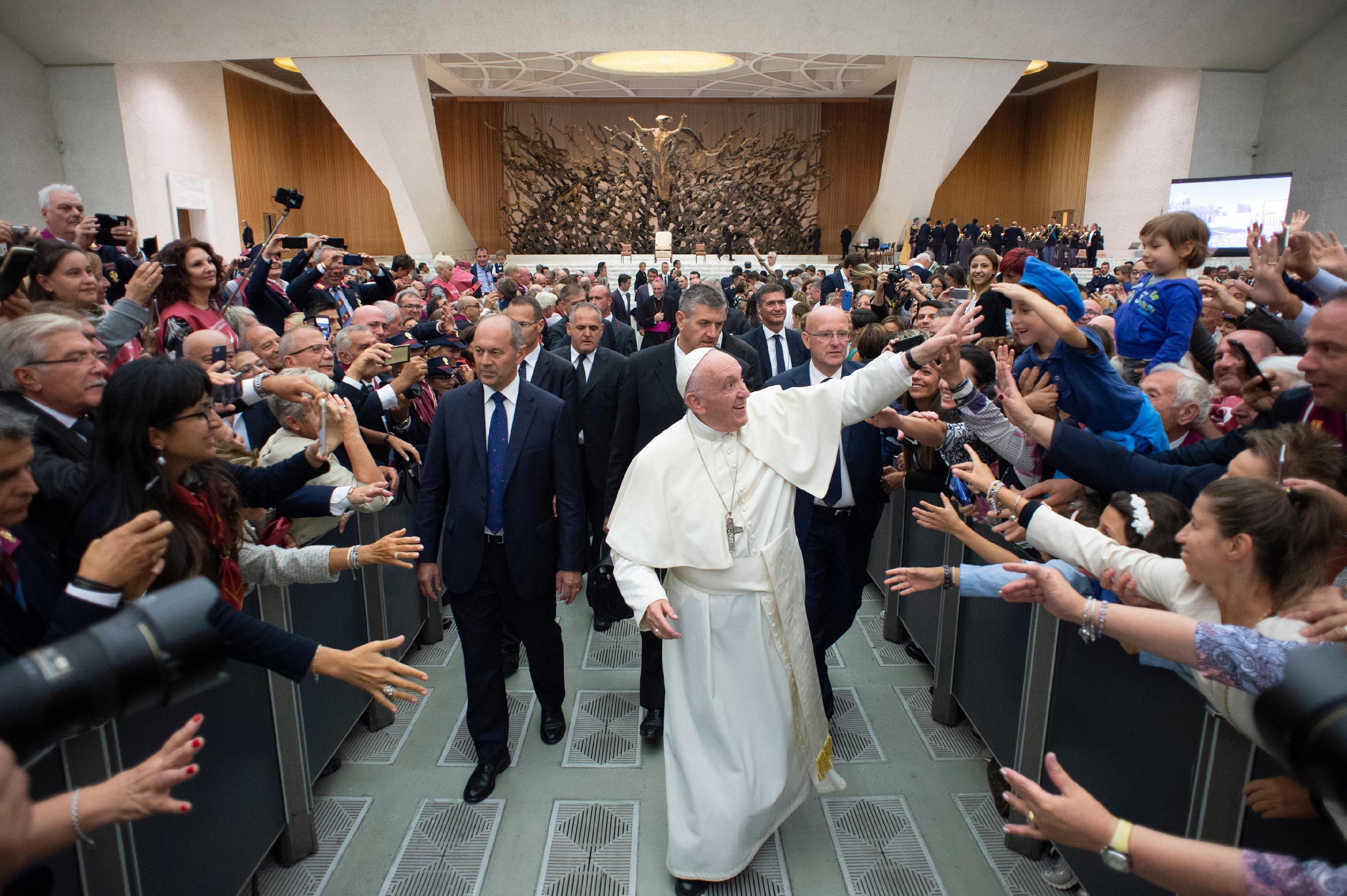 Association de la Police d'Etat italienne © Vatican Media