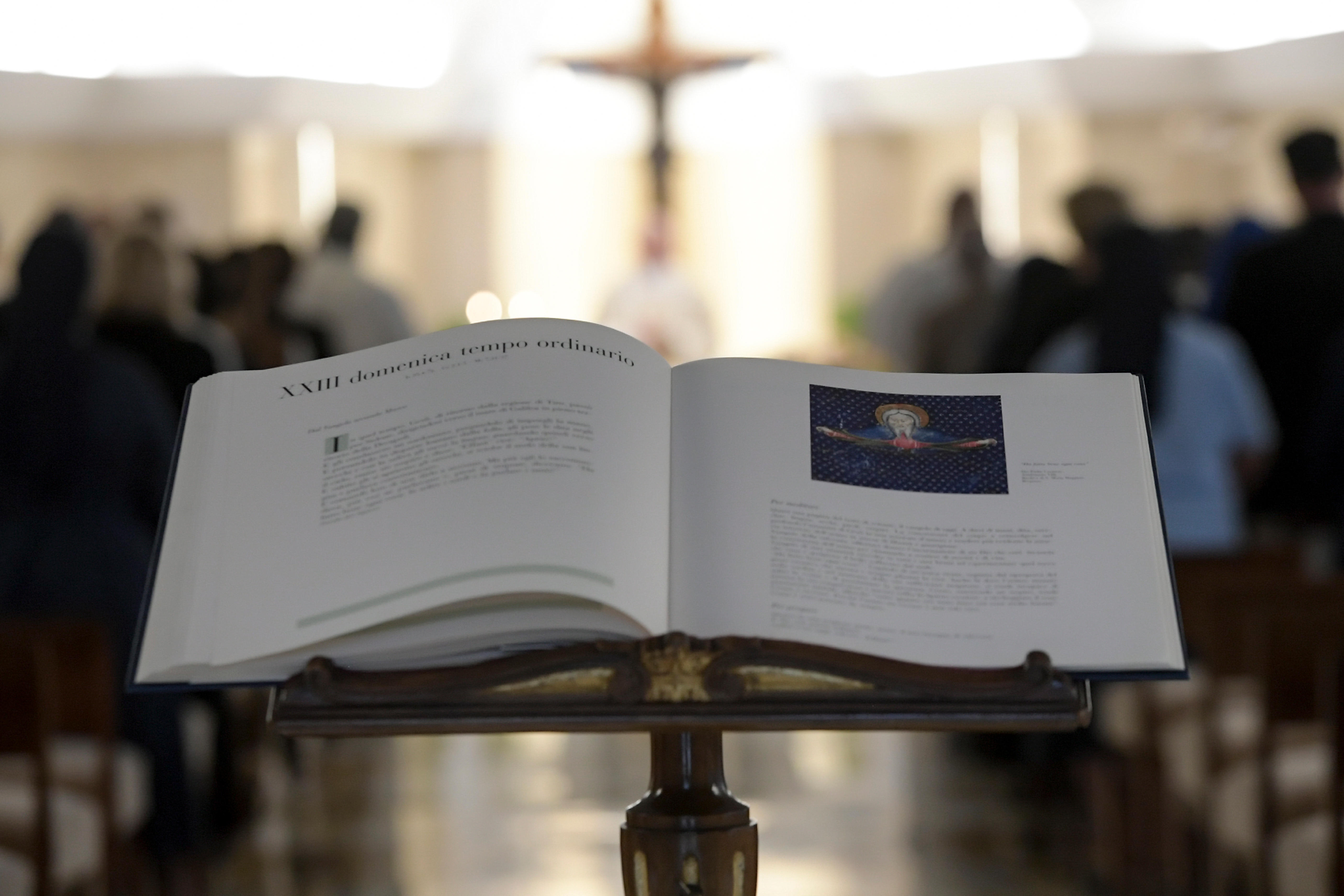 Messe à Sainte-Marthe 10 sept. 2018 © Vatican Media