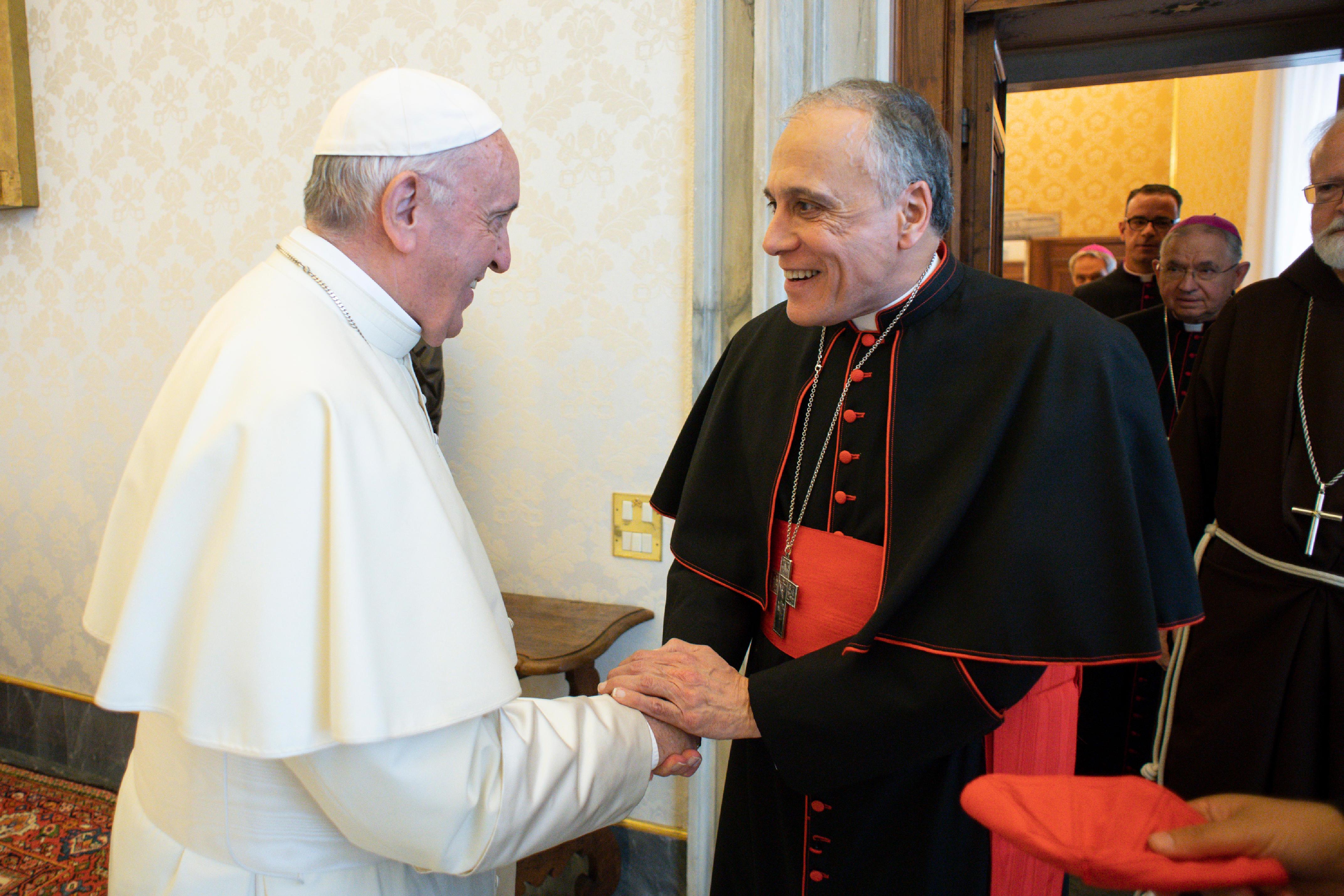 Card. DiNardo, 13 sept. 2018 © Vatican Media
