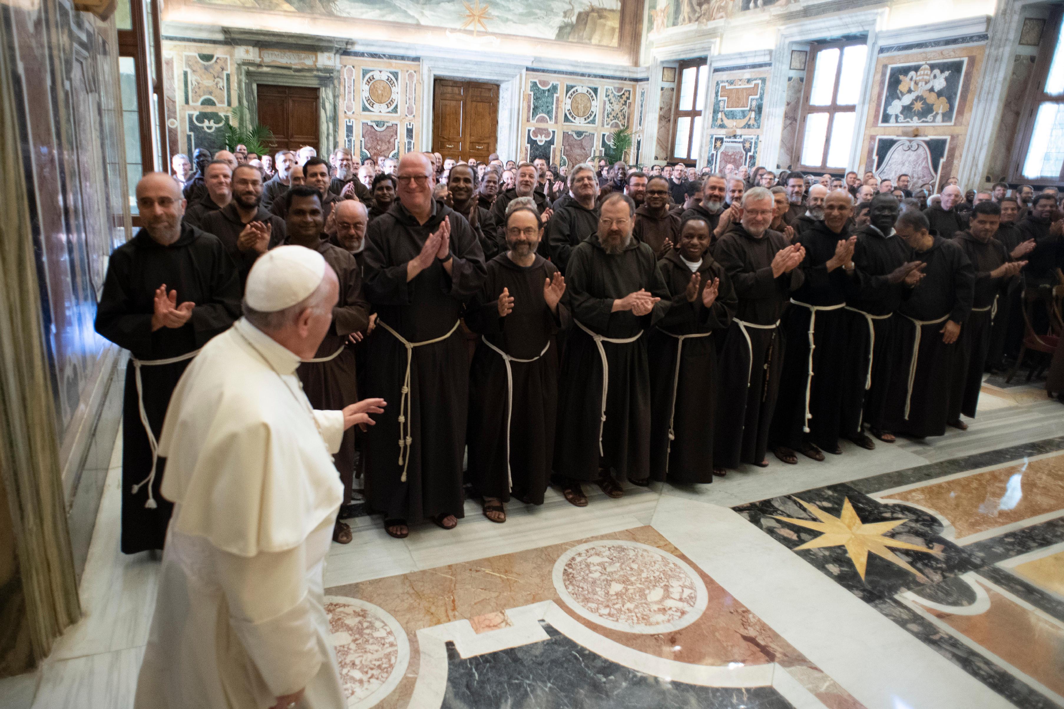 Audience aux Capucins 14 sept. 2018 © Vatican Media