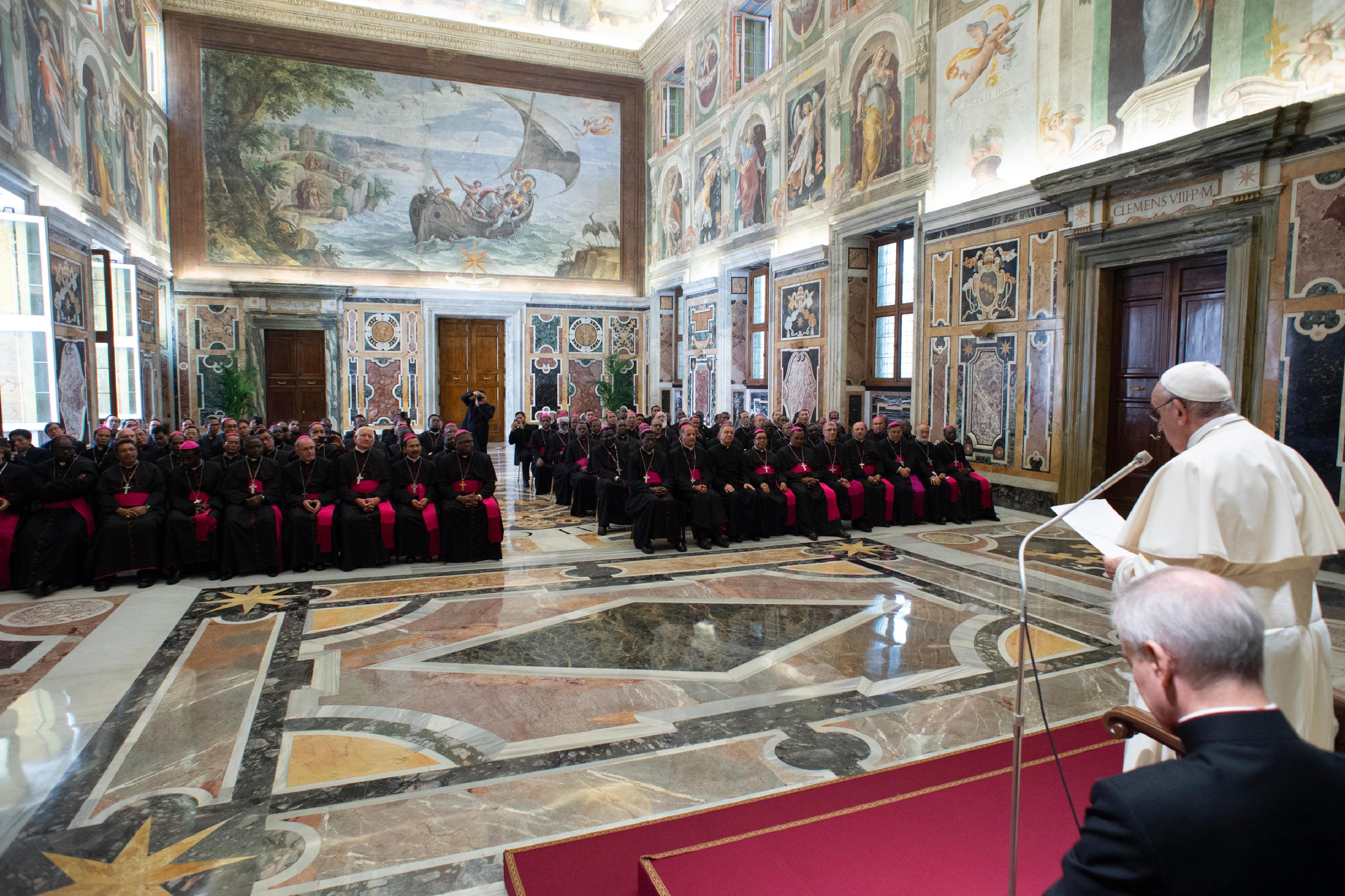 Evêques en territoire de mission © Vatican Media
