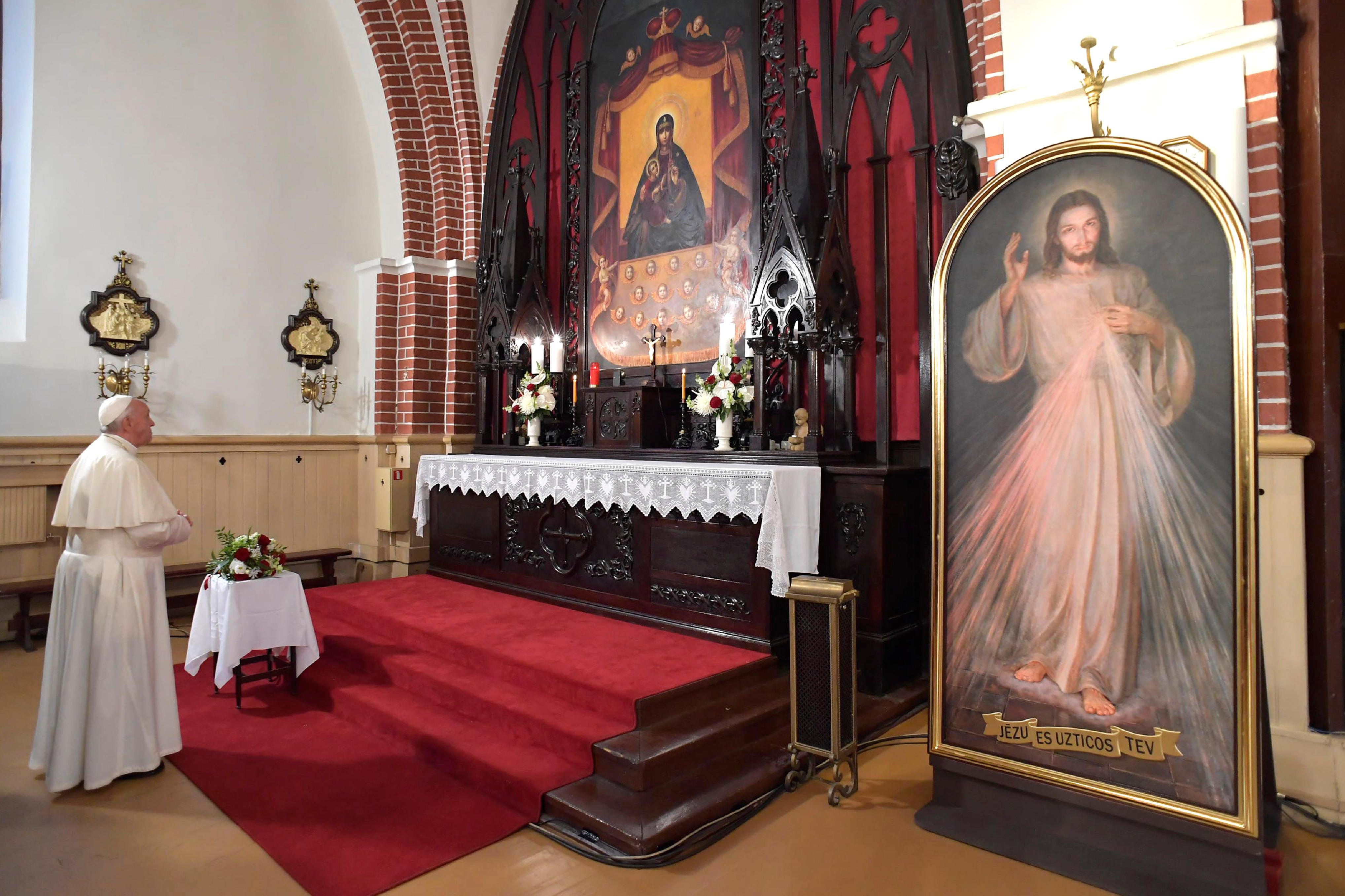 Cathédrale catholique Saint-Jacques de Riga © Vatican Media