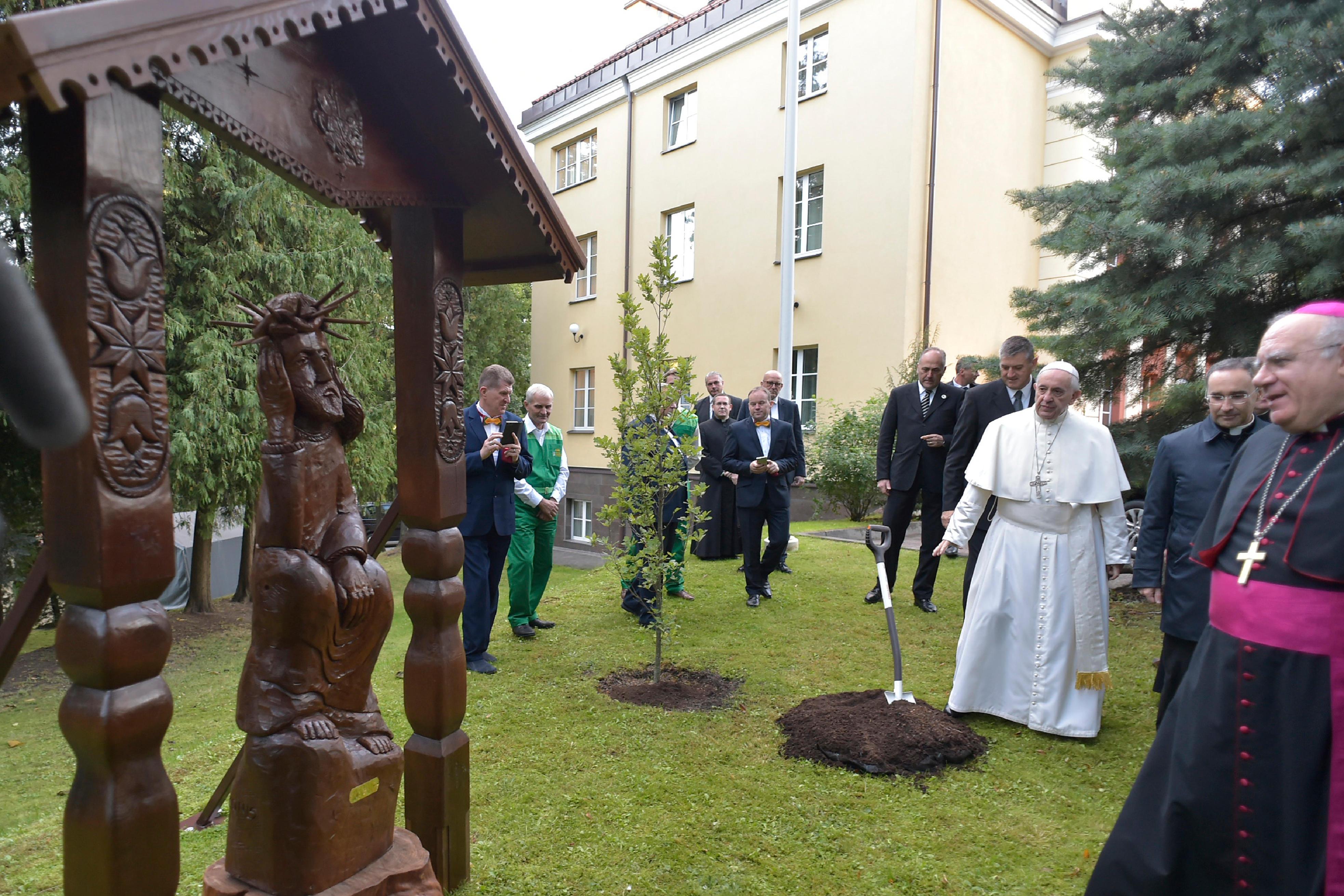 Nonciature de Vilnius (Lituanie) 25 sept. 2018 © Vatican News