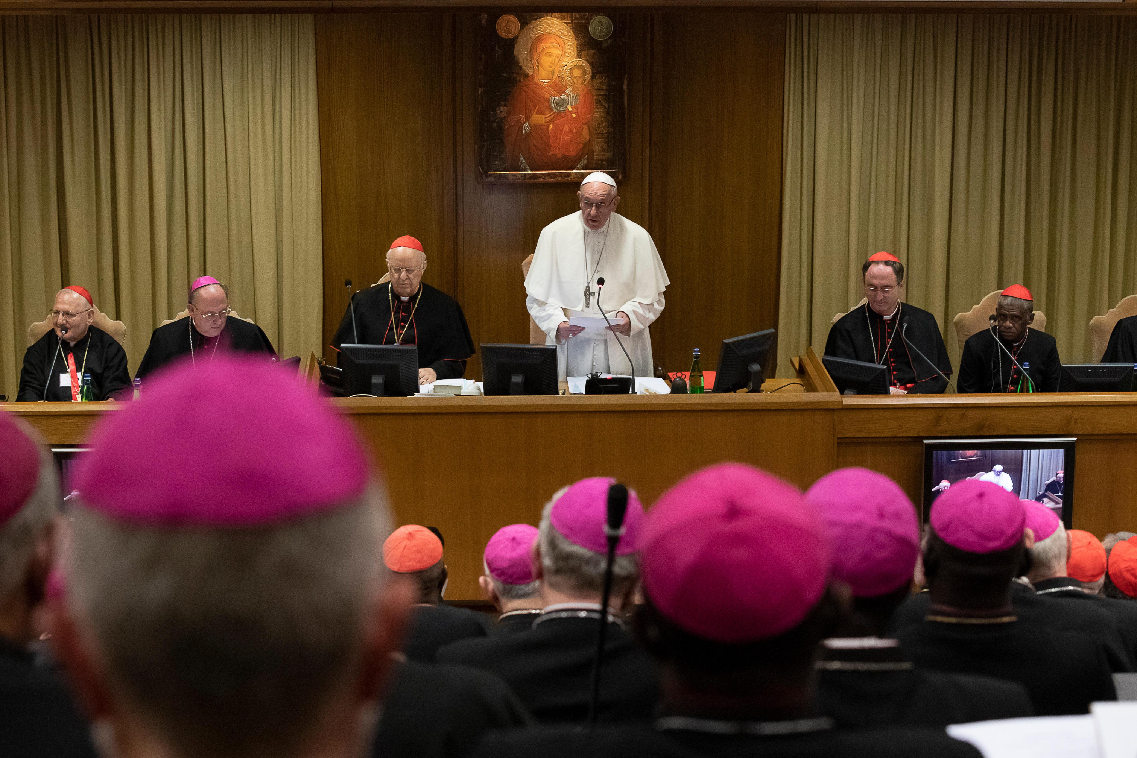Ouverture du synode des évêques sur les jeunes © Vatican Media