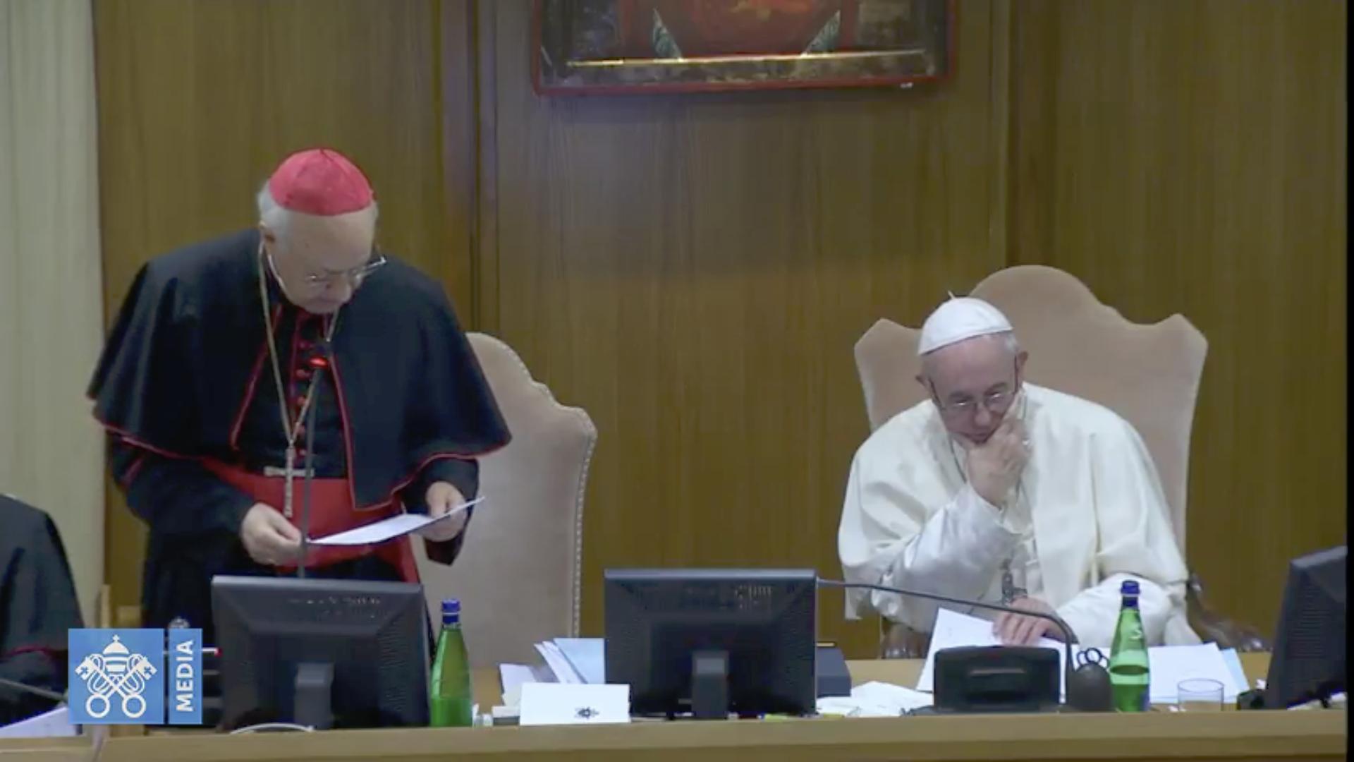 Card. Baldisseri, Synode 2018 @ Vatican Media