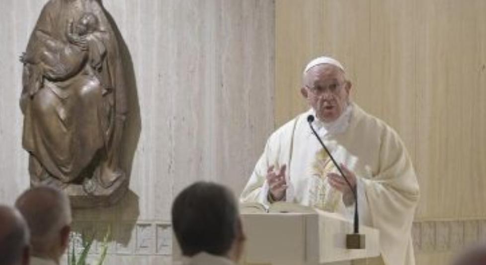 Messe du 2 oct. 2018 à Ste Marthe © Vatican News