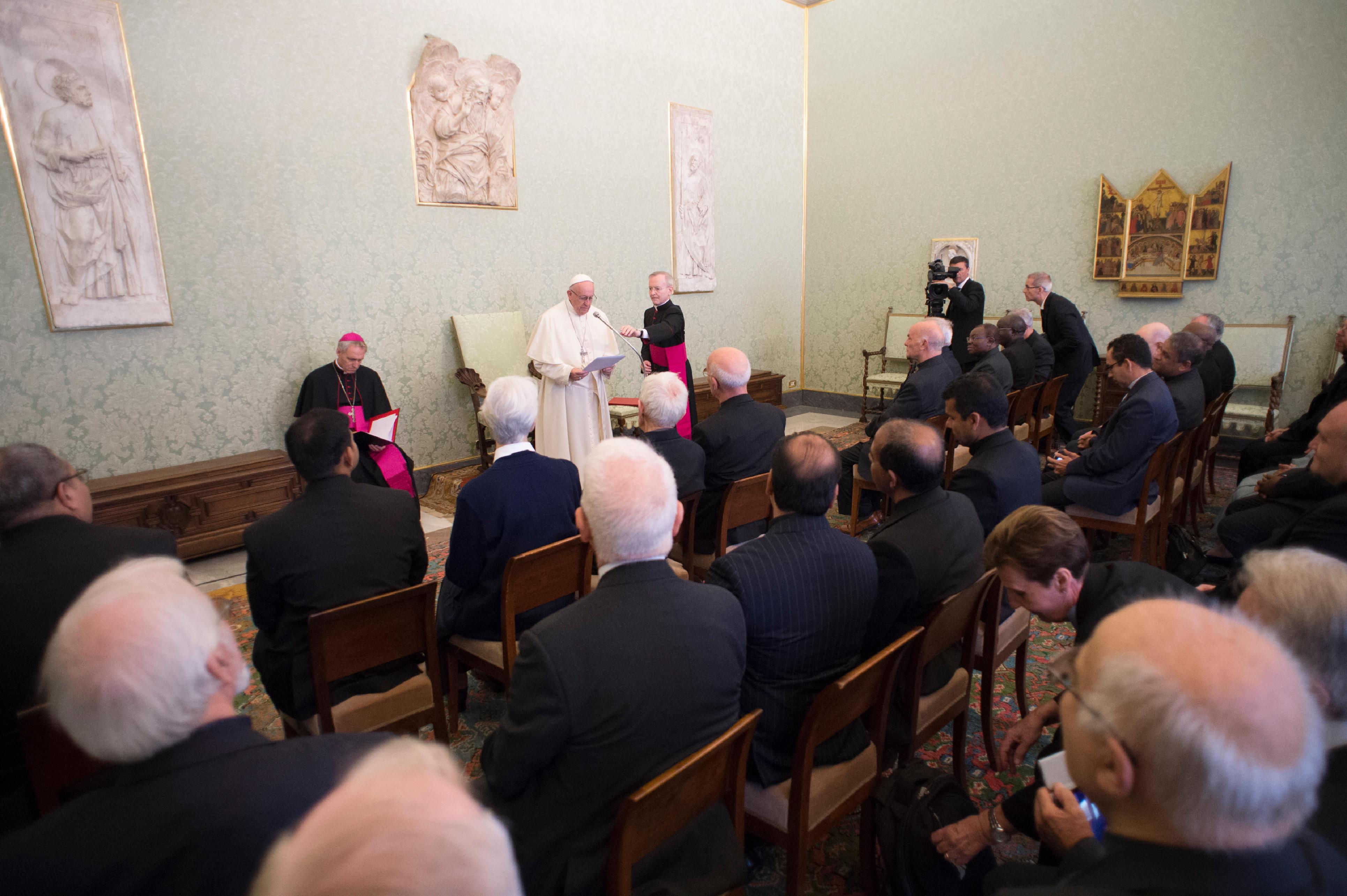 Rosminiens, Institut de la charité © Vatican Media