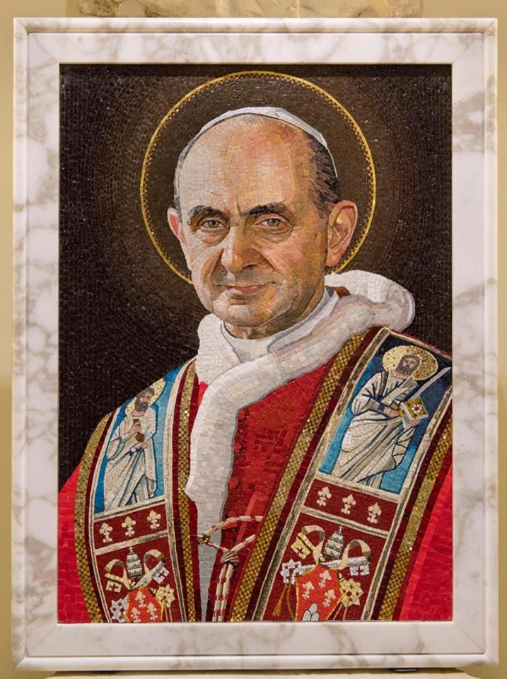 """""""Sanctus"""", Nouvelle tombe de Paul VI (au même endroit qu'avant) © Vatican Media"""