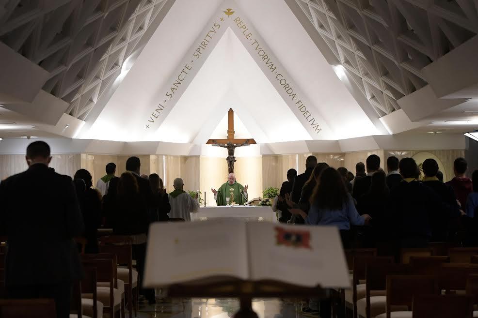 Sainte-Marthe, 27 nov. 2018 © Vatican Media