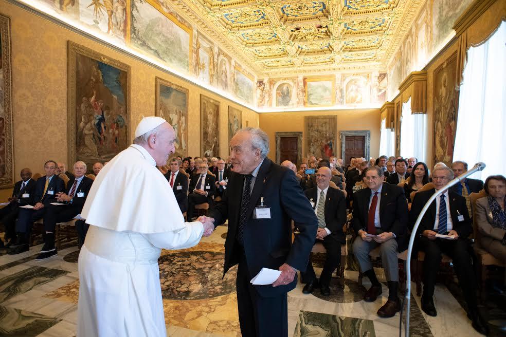 Werner Arber, président de l'Académie pontificale des Sciences © Vatican Media