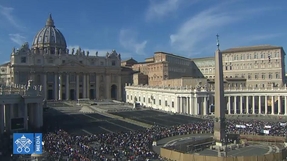Angélus du 11 novembre 2018, capture Vatican Media