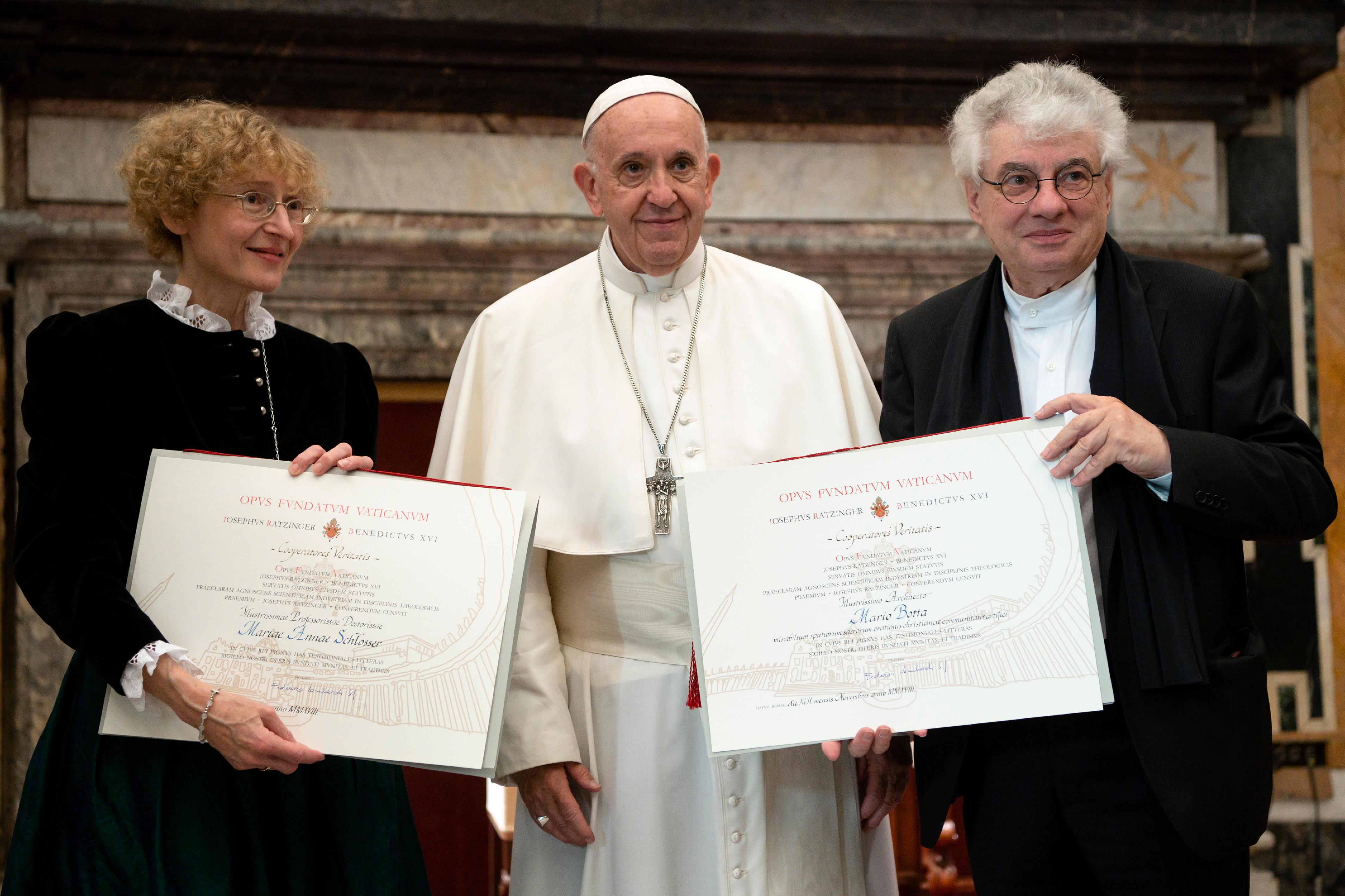 Prix Ratzinger 2018 © Vatican Media