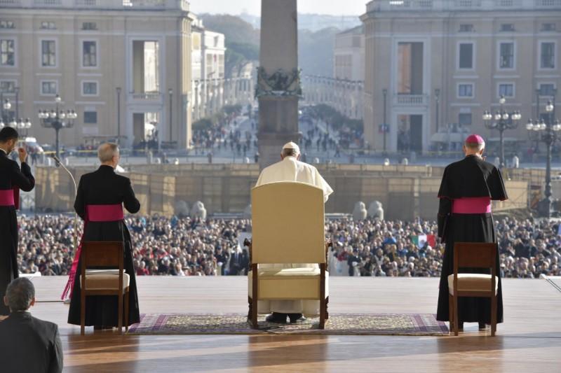 Audience générale du 14 novembre 2018 © Vatican Media