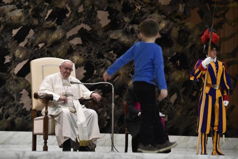 Audience générale du 28 nov 2018 © Vatican Media